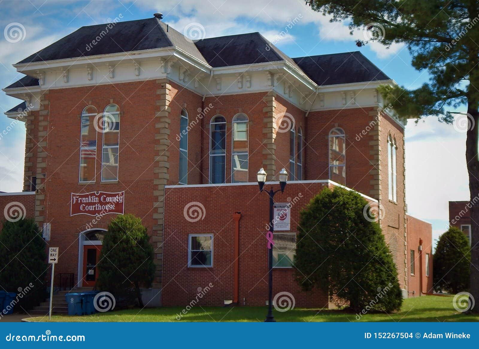 Franklin County Courthouse Benton Illinois