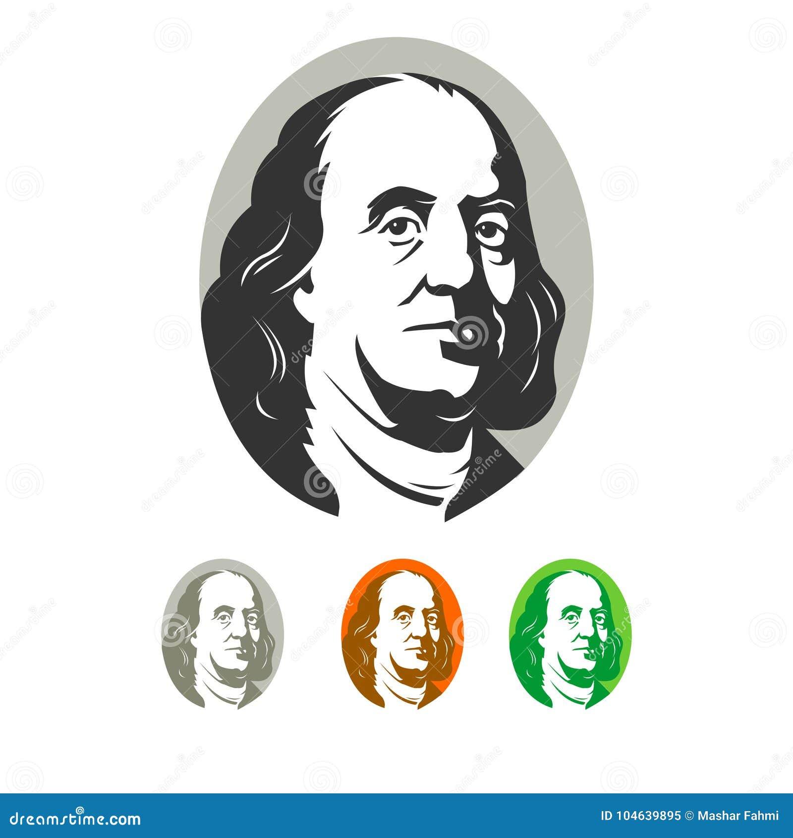 Download Franklin eenvoudig beeld vector illustratie. Illustratie bestaande uit franklin - 104639895