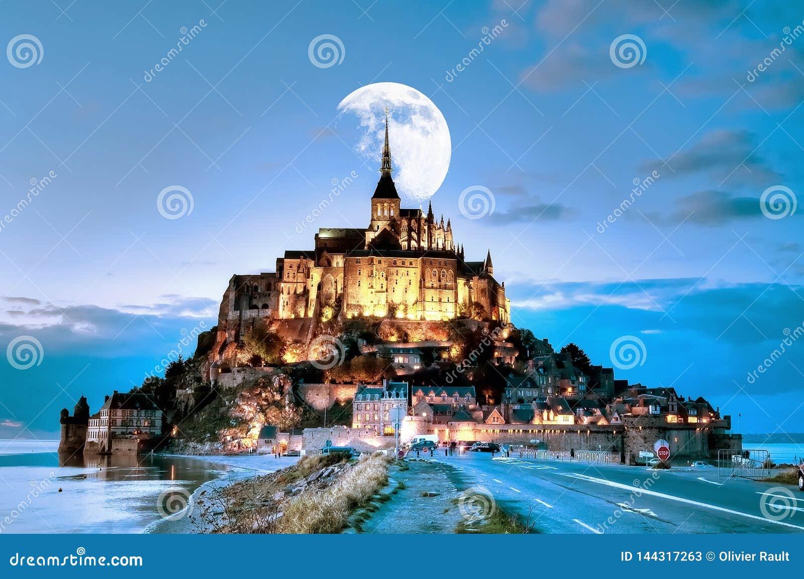 Frankreich, Mont Saint Michel