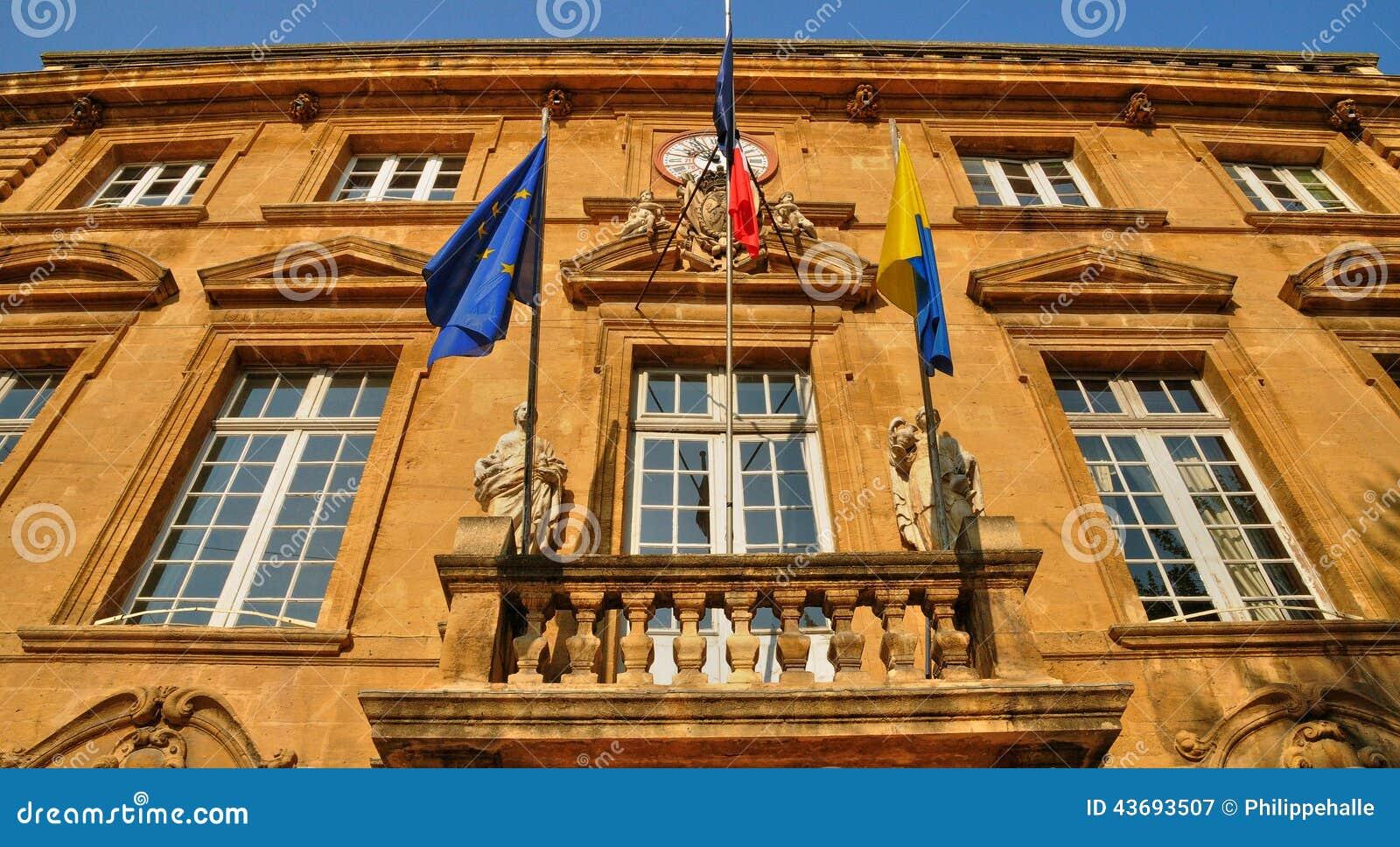 Frankrijk bouche du de rh ne stad van salon de provence stock afbeelding afbeelding 43693507 - Foto van sallon ...