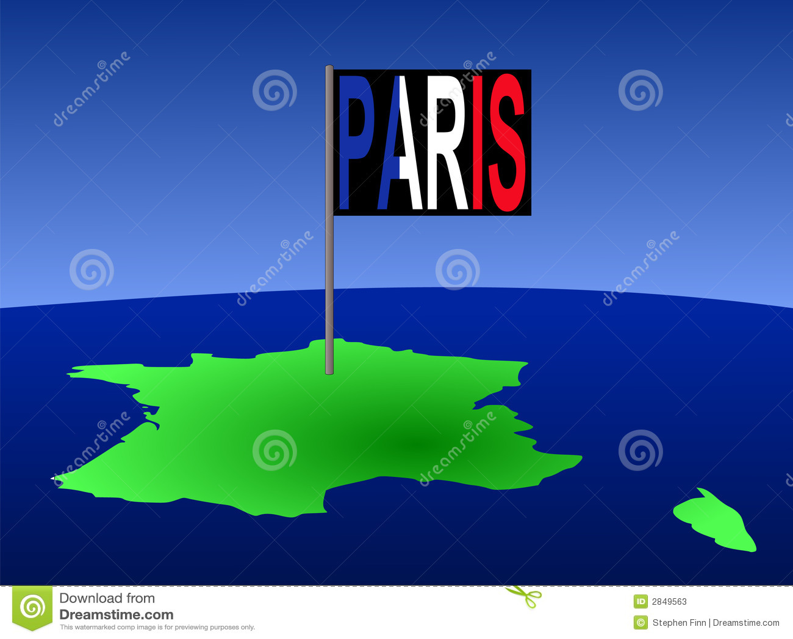 J Boog Frankrijk Met De Vlag ...
