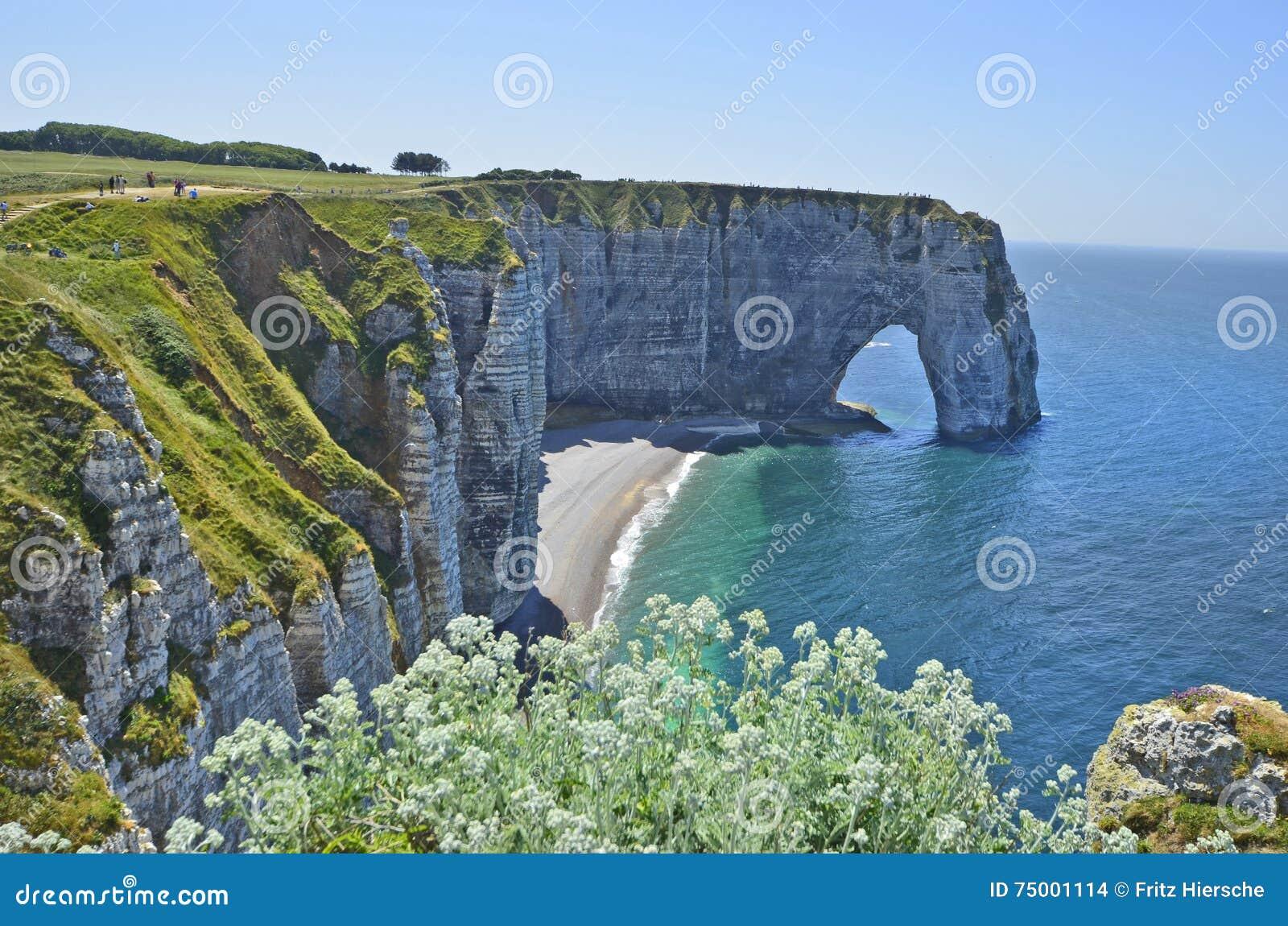 Frankrijk, Normandië, kust