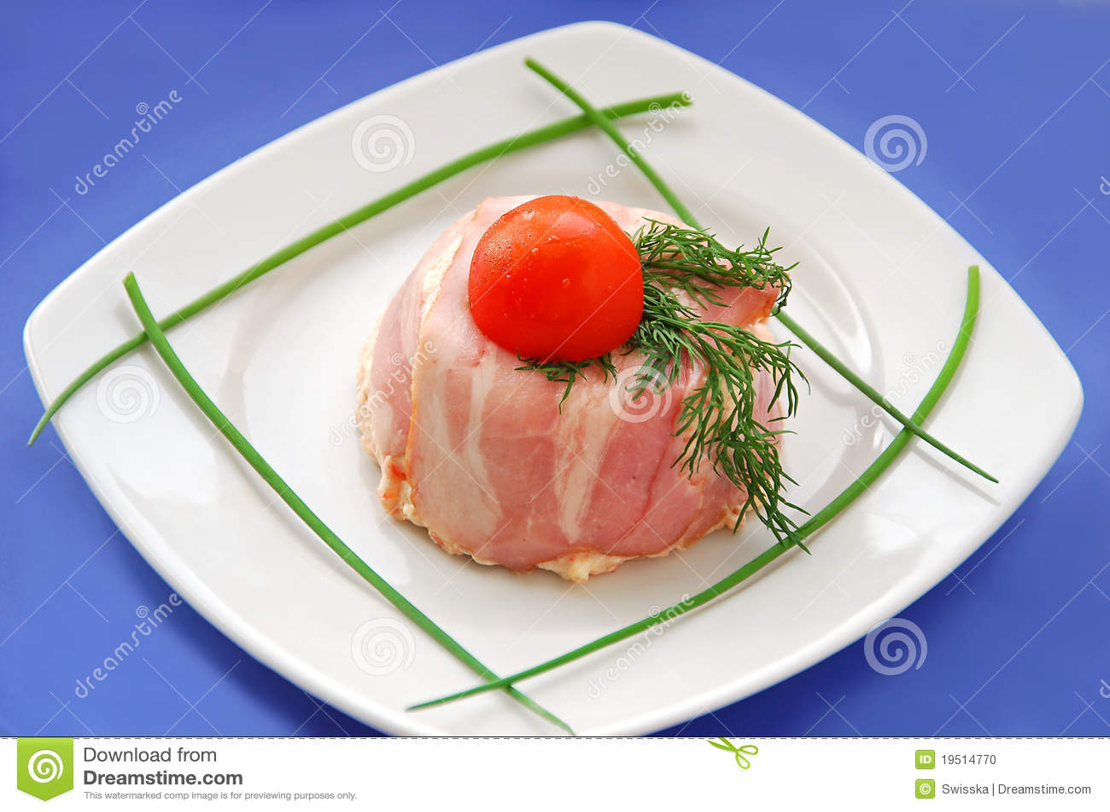 frans voorgerecht met vlees