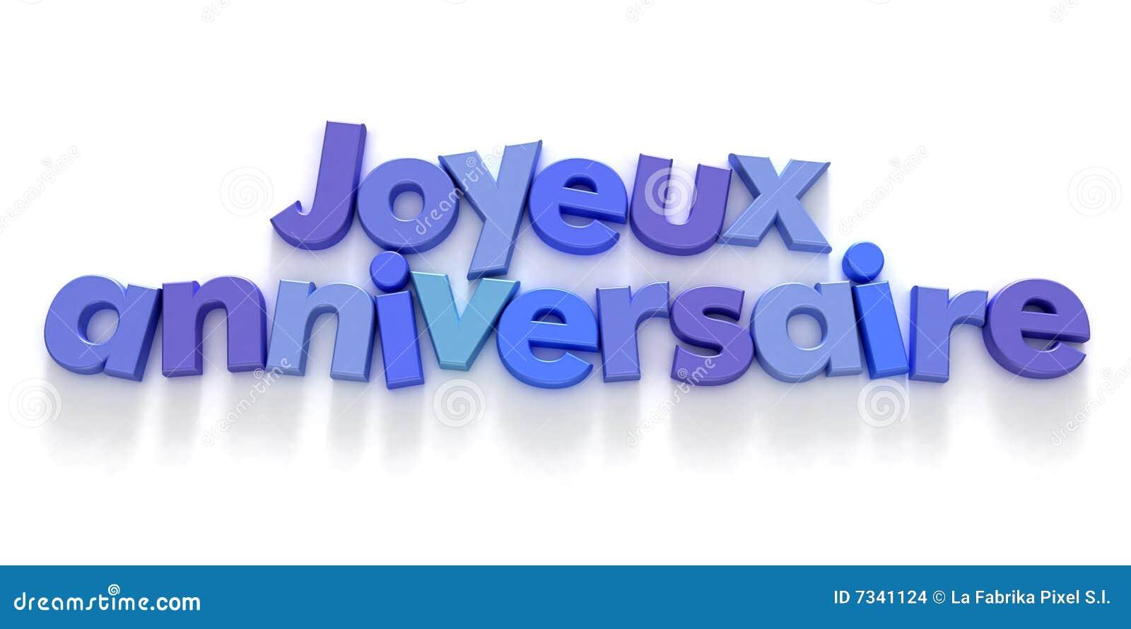 Поздравление мамы с днем рождения на французском