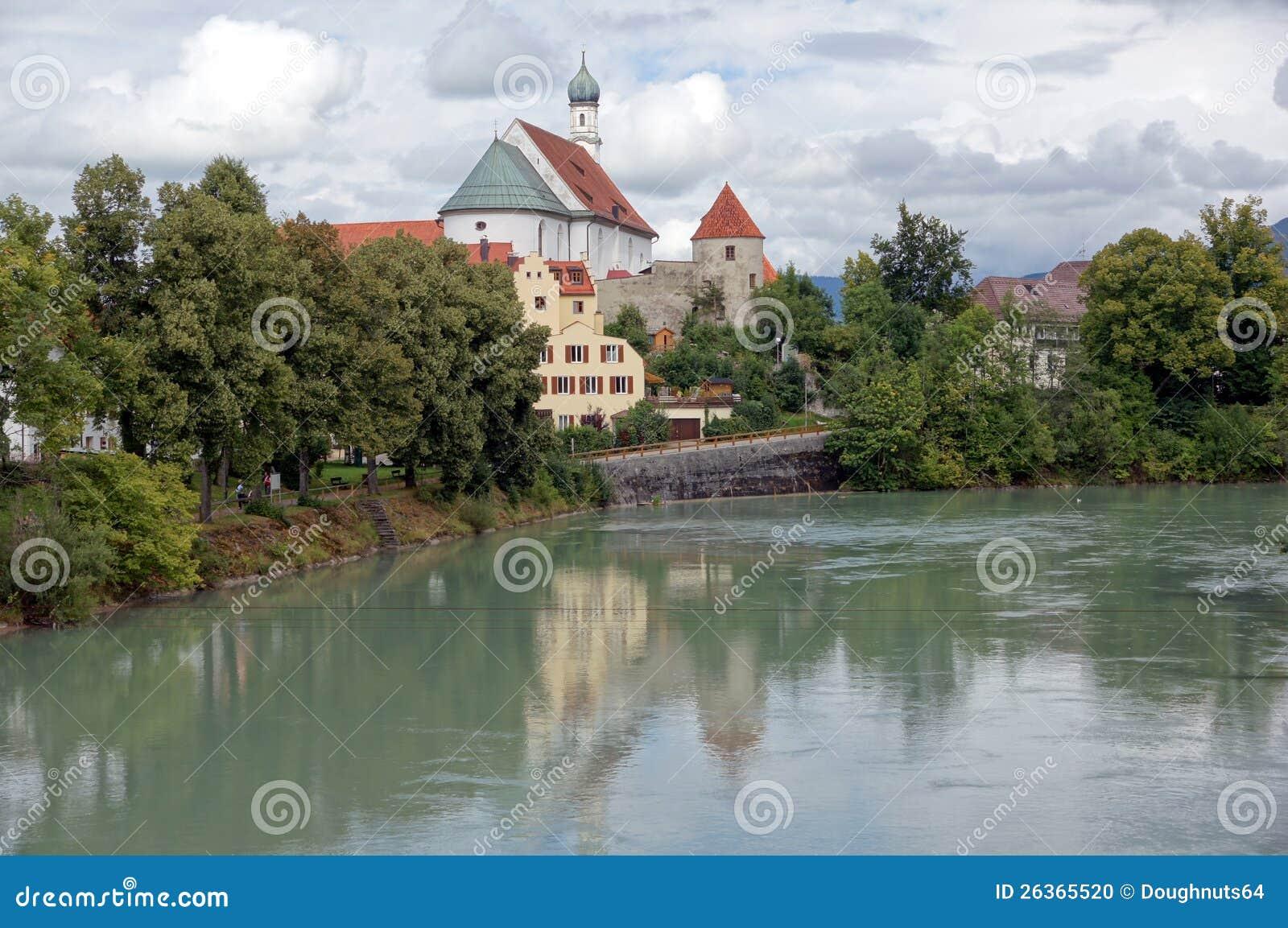 Fransiskanerkloster - Kloster auf dem Fluss Lech