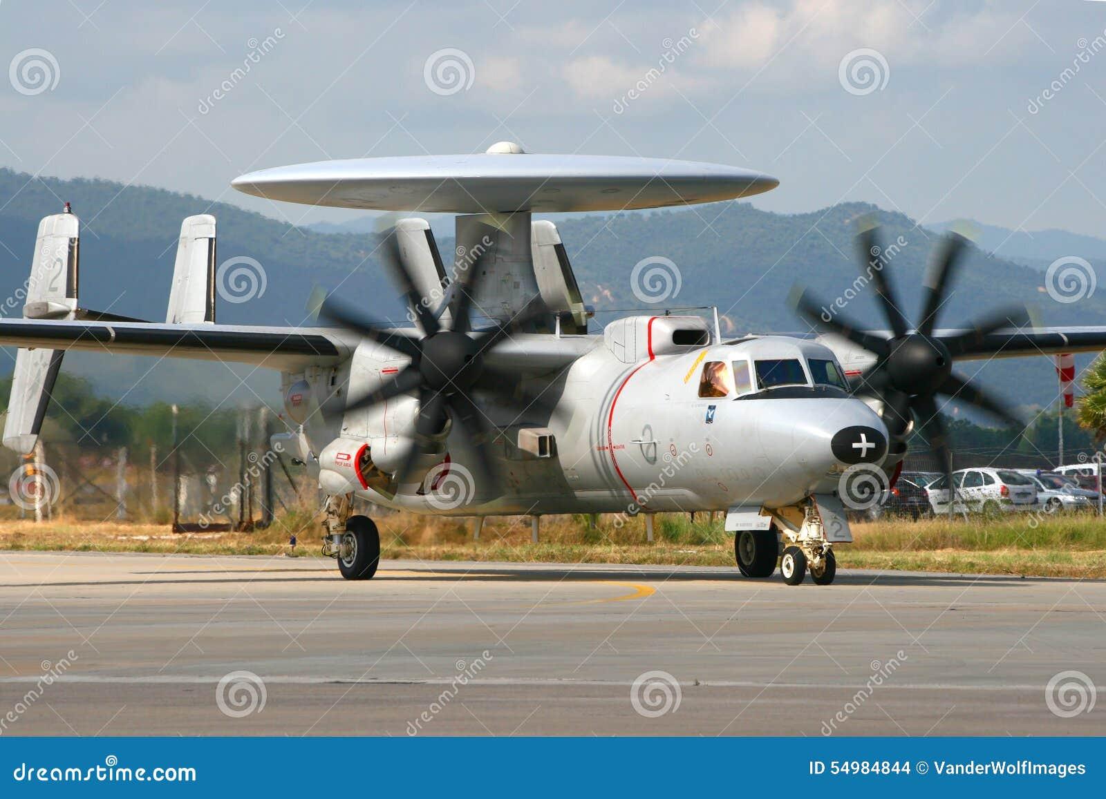 Fransk marin E-2 Hawkeye