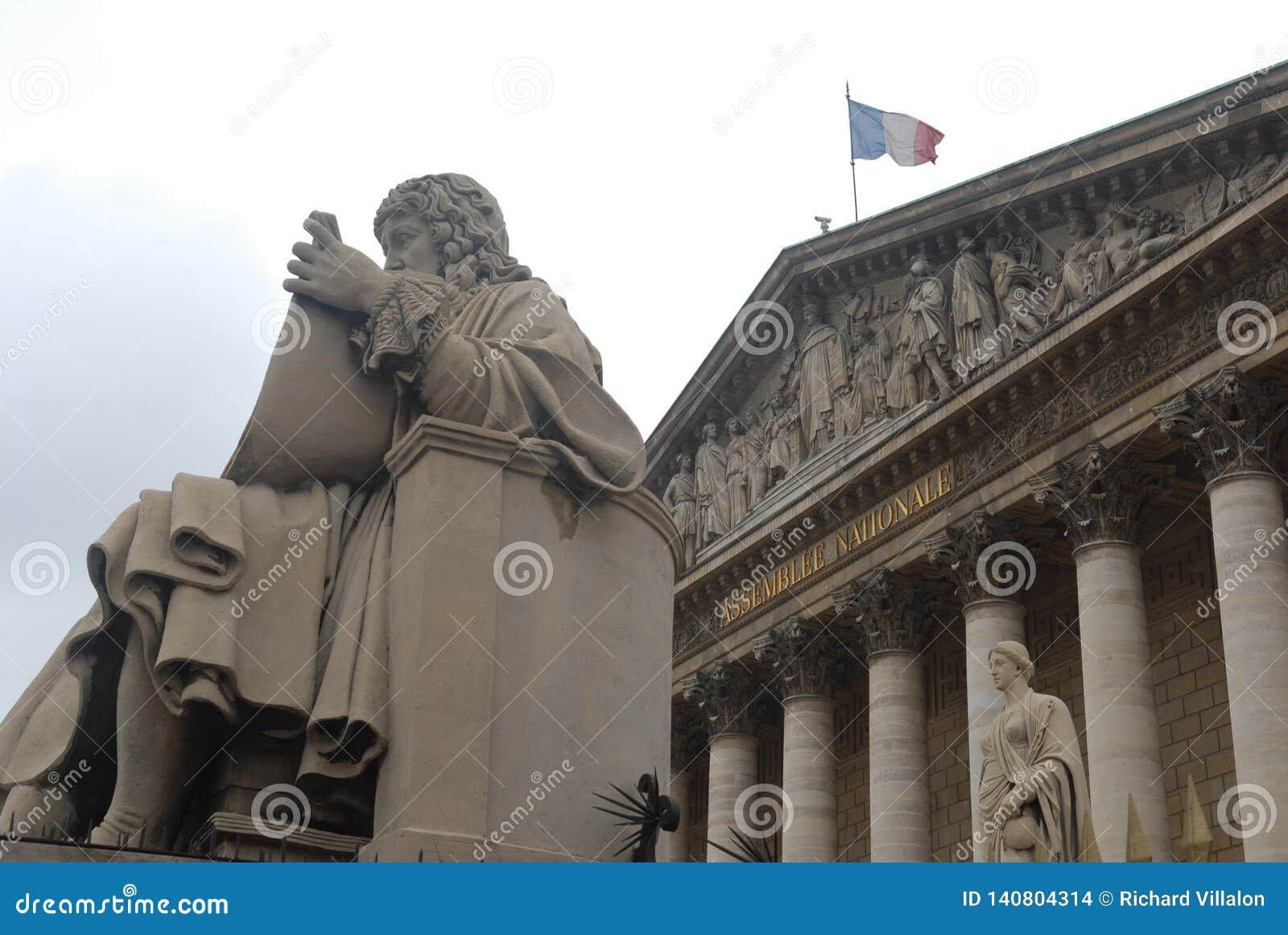 Fransk nationalförsamling i Paris