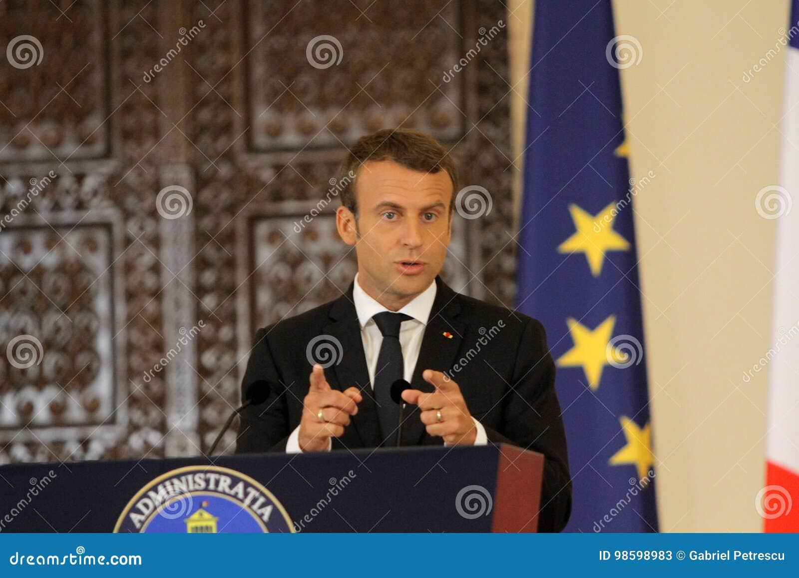 Fransk president Emmanuel Macron