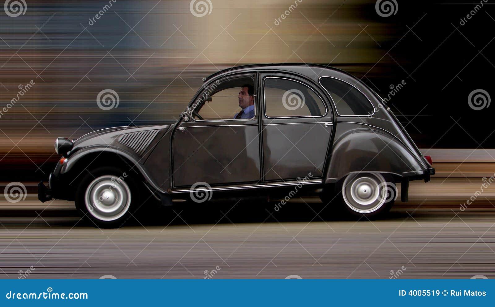 Fransman för bil 2cv