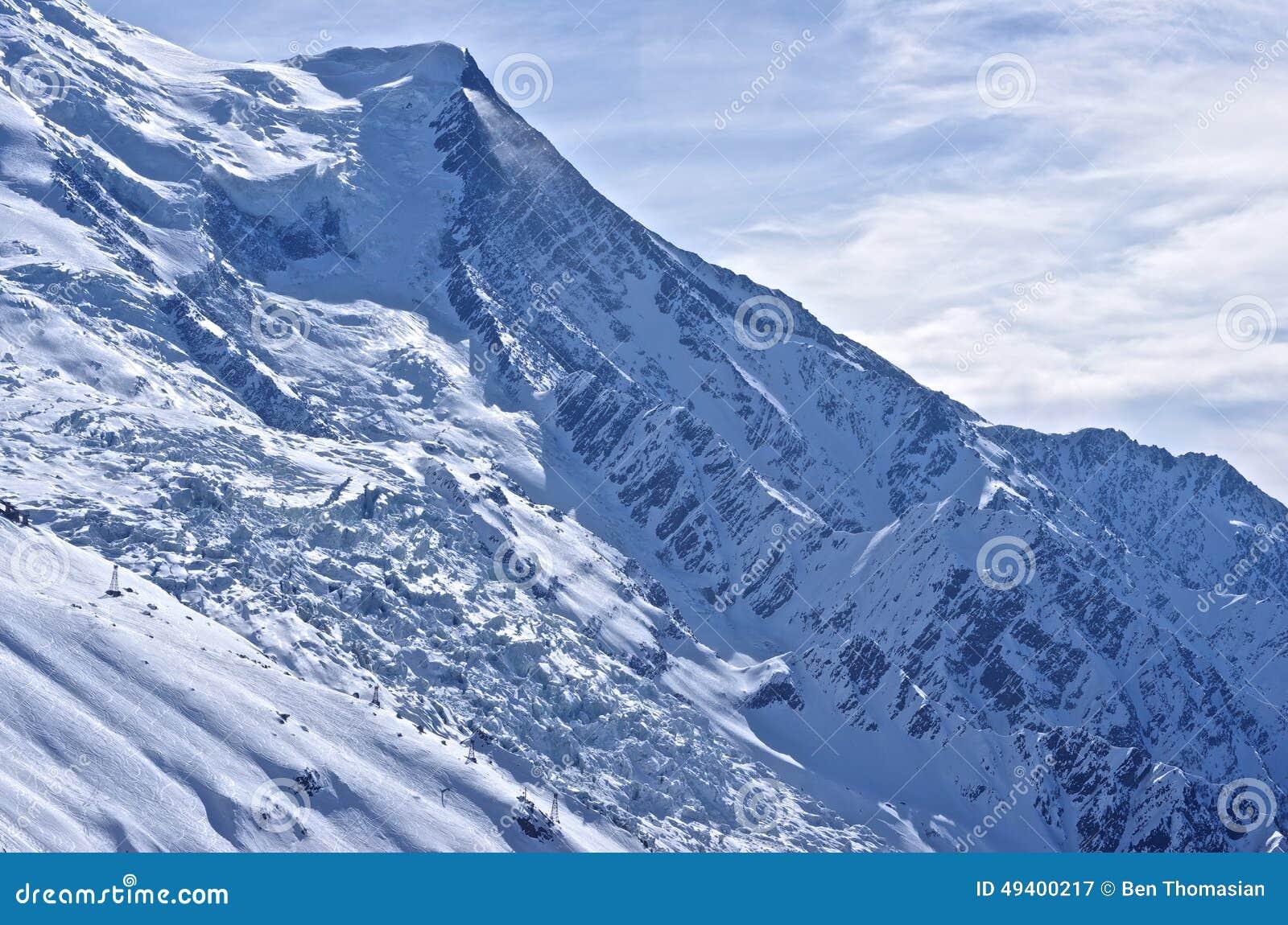 Download Französische Alpen stockbild. Bild von alpin, alpen, snowboard - 49400217