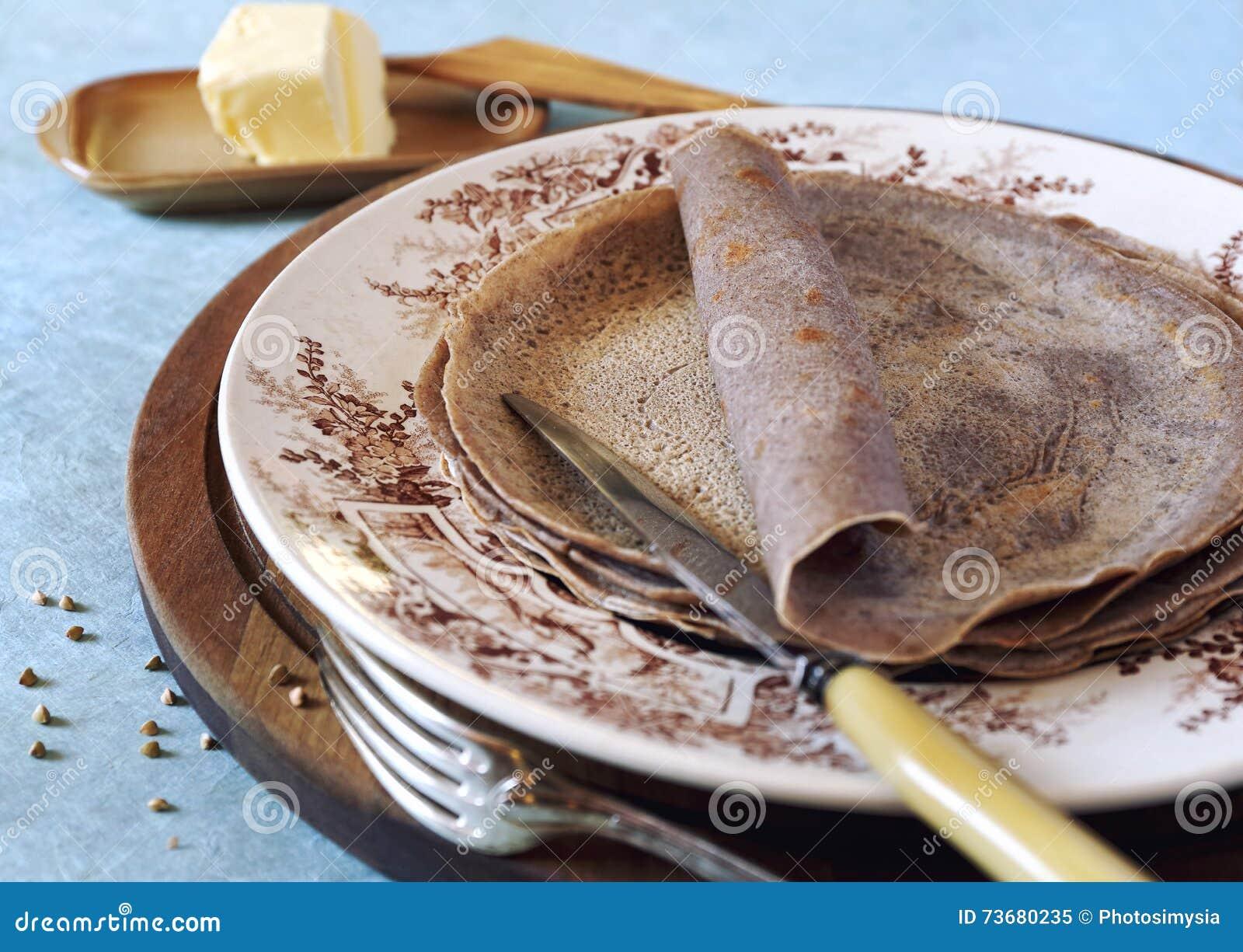 Bretonische Küche   Franzosische Regionen Der Kuche Bretonische Buchweizenkrepps