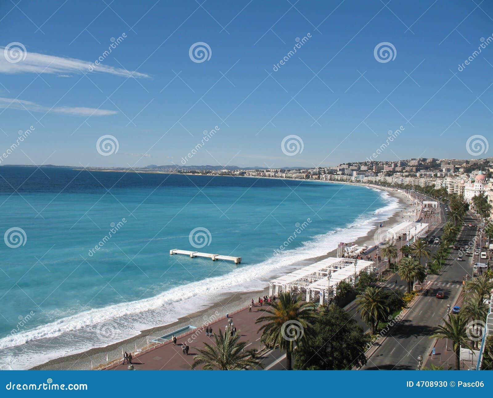 Französischer Riviera - berühmte Plätze