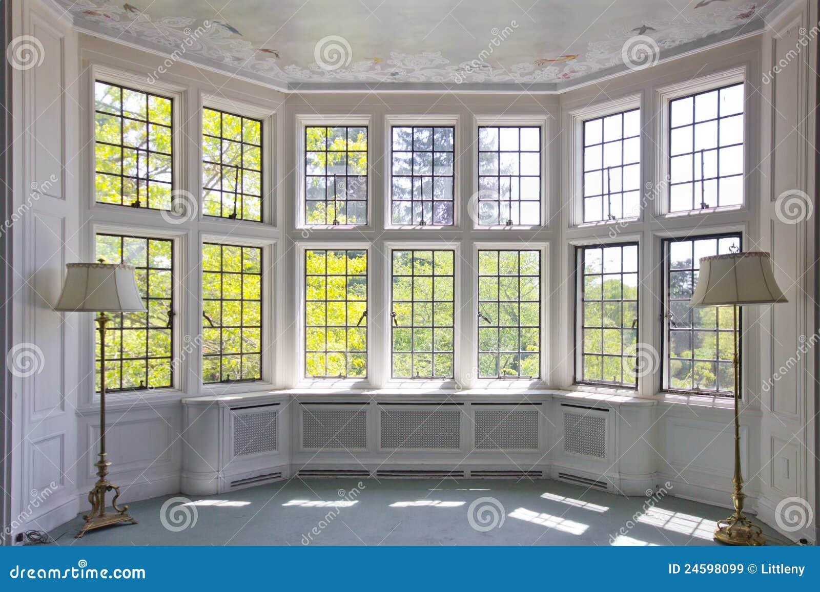Französischer Scheiben-Fenster-Innenraum