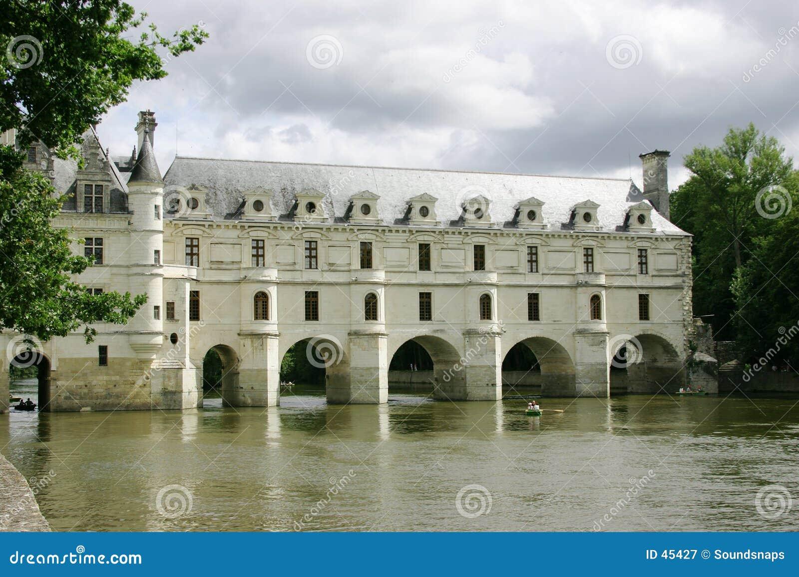 Französisches Chateau auf dem Loire