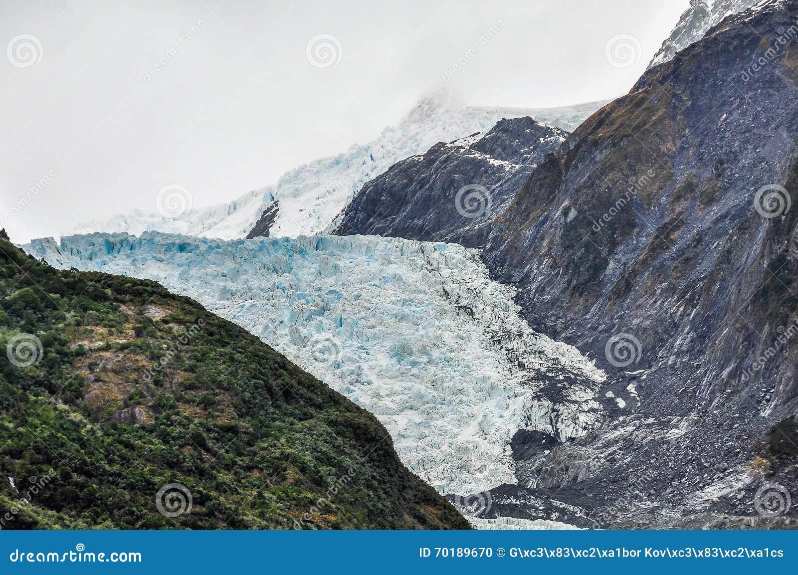 Franz glaciär josef New Zealand