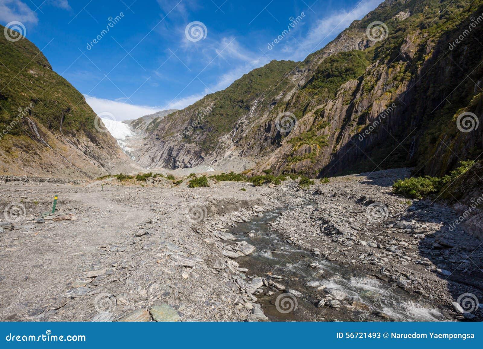 Franz josef glaciär