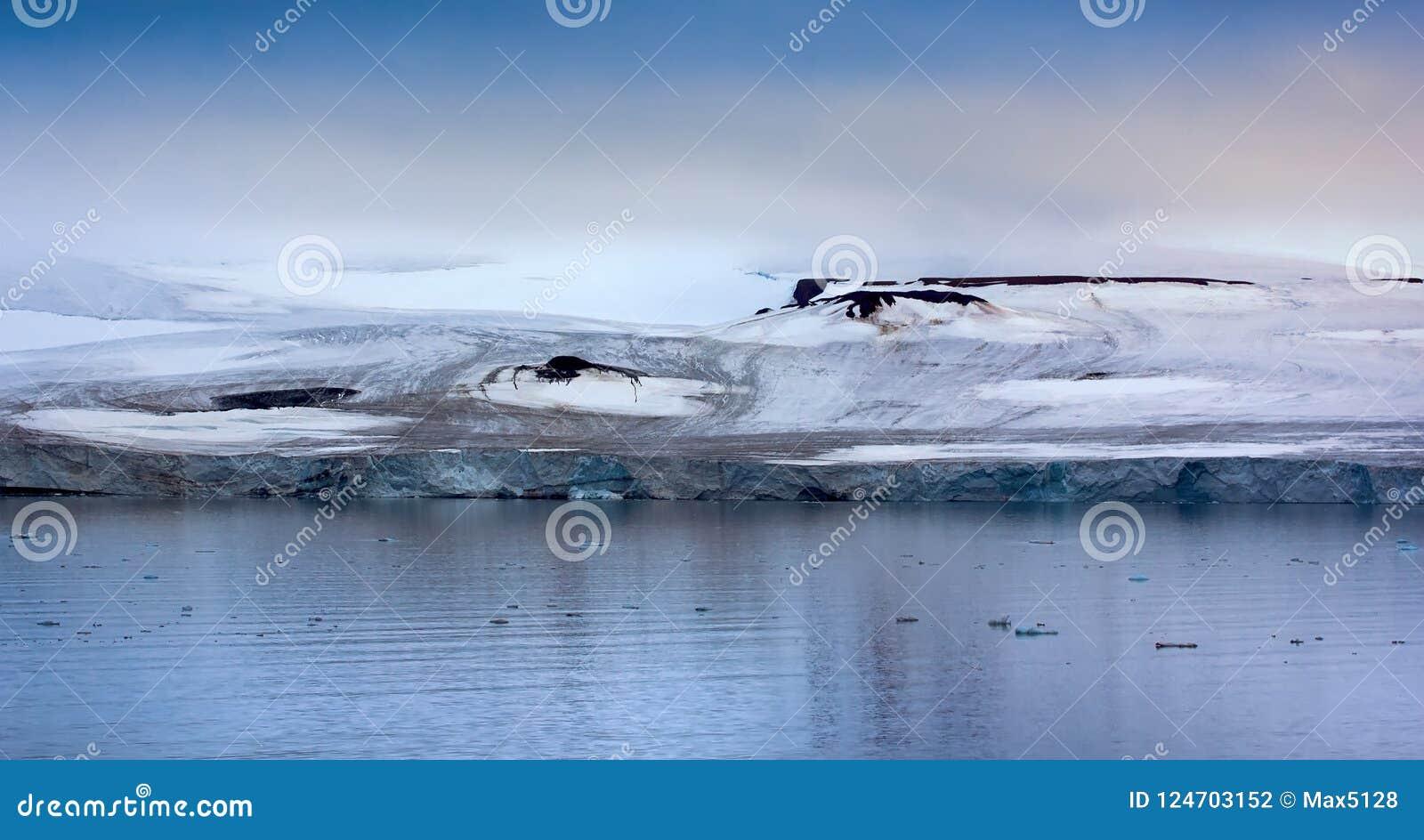 Franz Josef Land - glaciärer