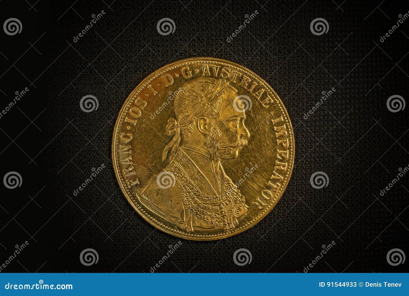 Franz Joseph I Austro Ungarischer Goldener Dukat Ab 1915 Beteuert