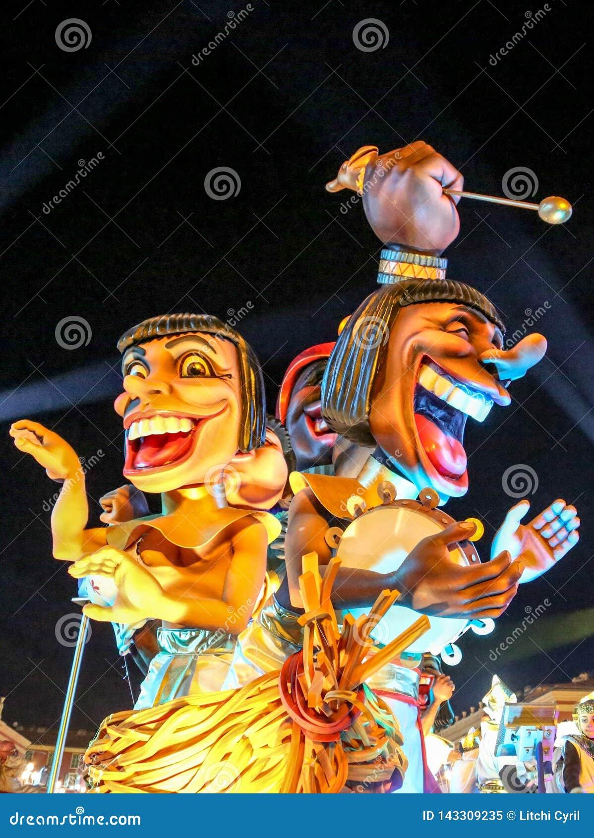 Franz?sischer Karneval von Nizza