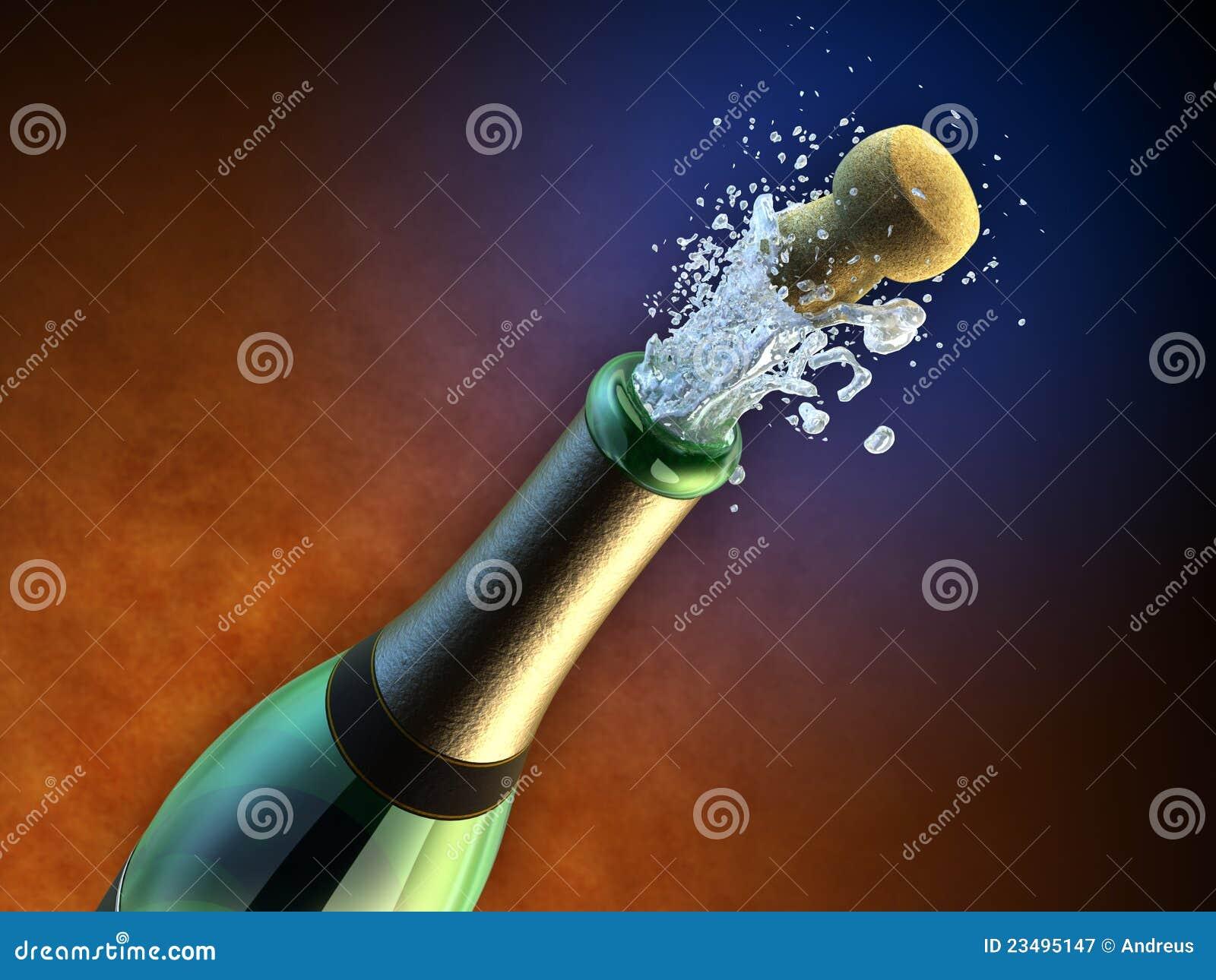 Frasco de Champagne