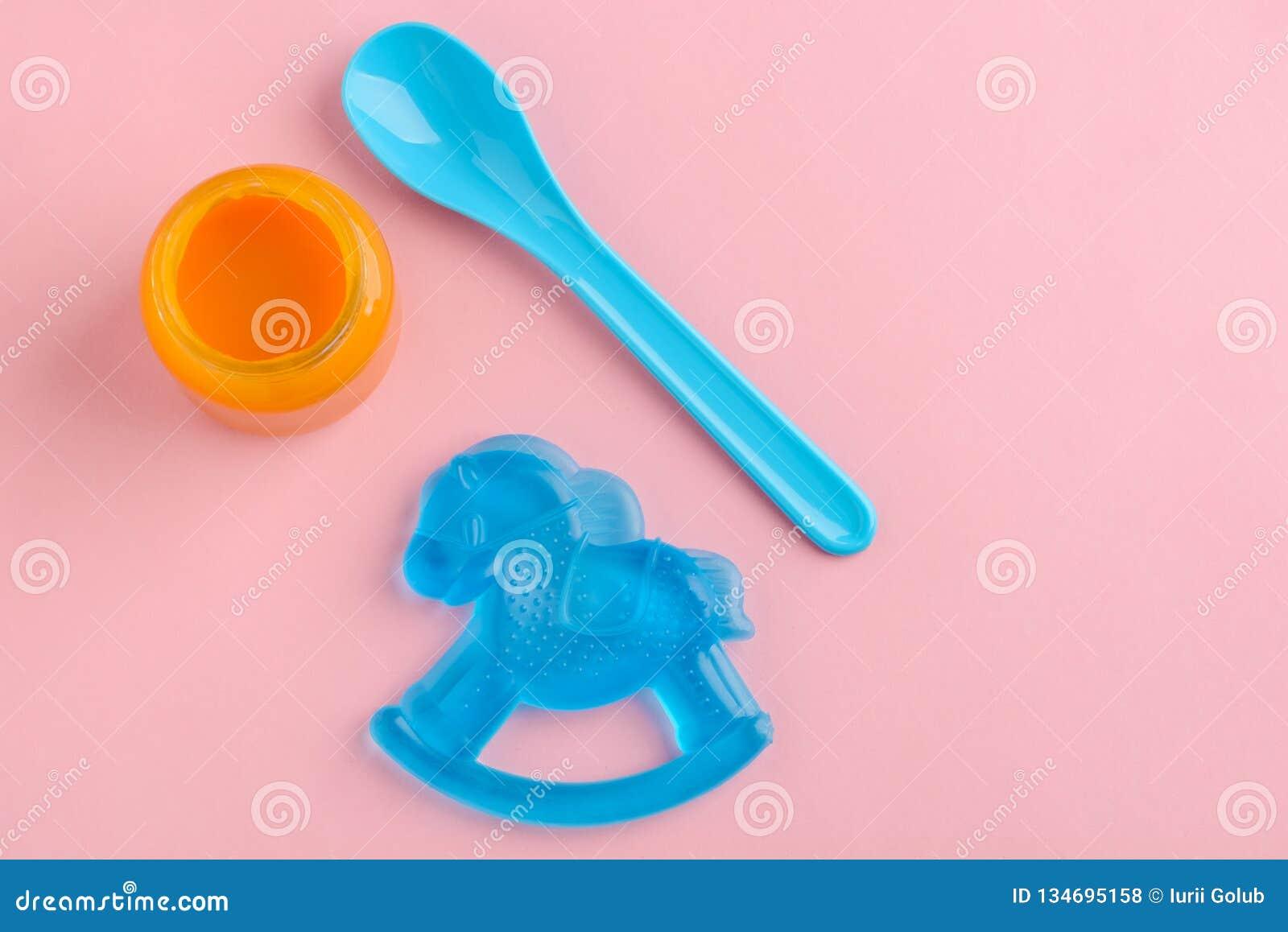 Frasco do comida para bebê