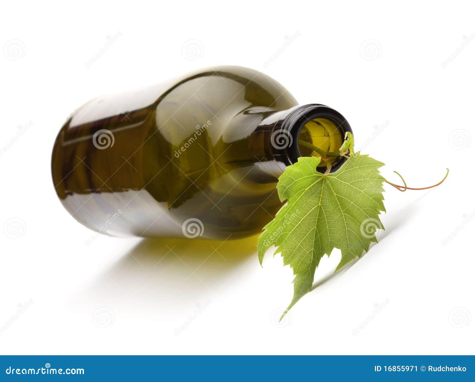 Frasco e vinha