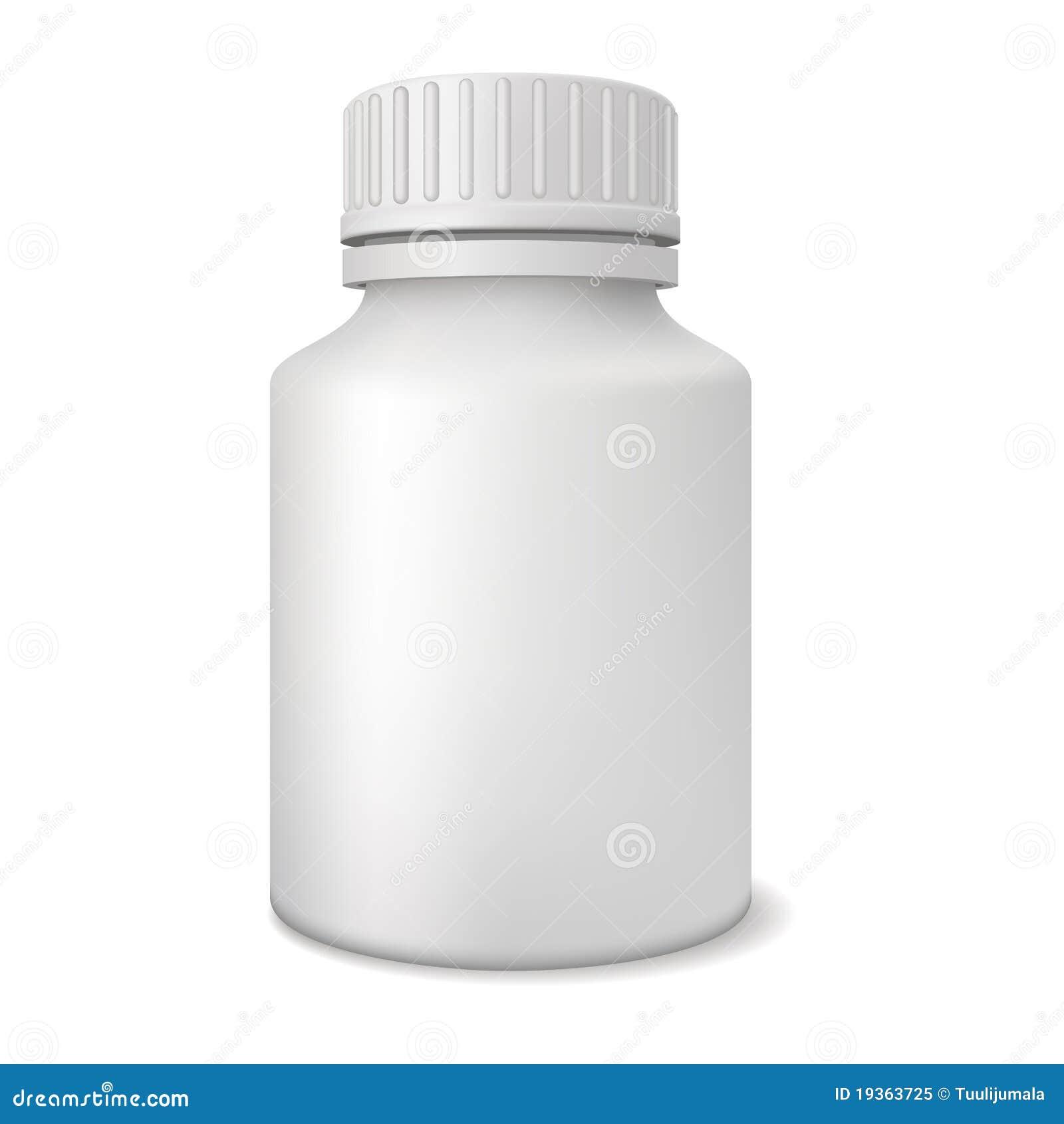 Frasco em branco da medicina