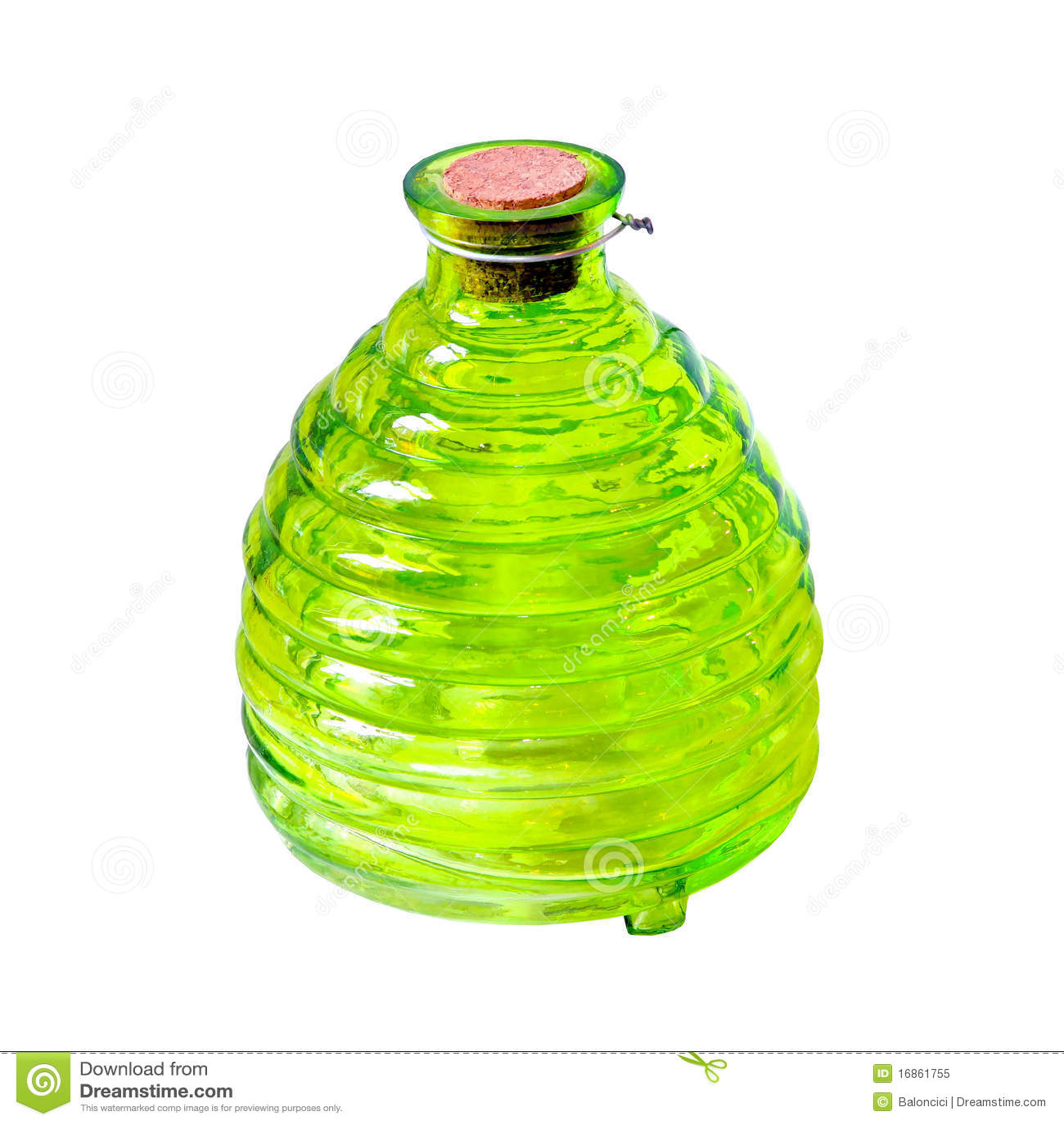 Frasco verde