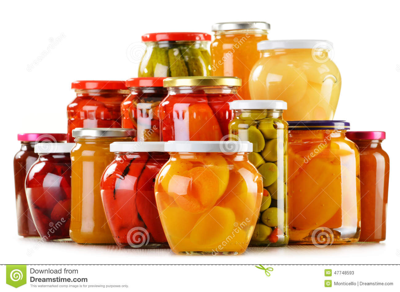 Pickled Canned Food