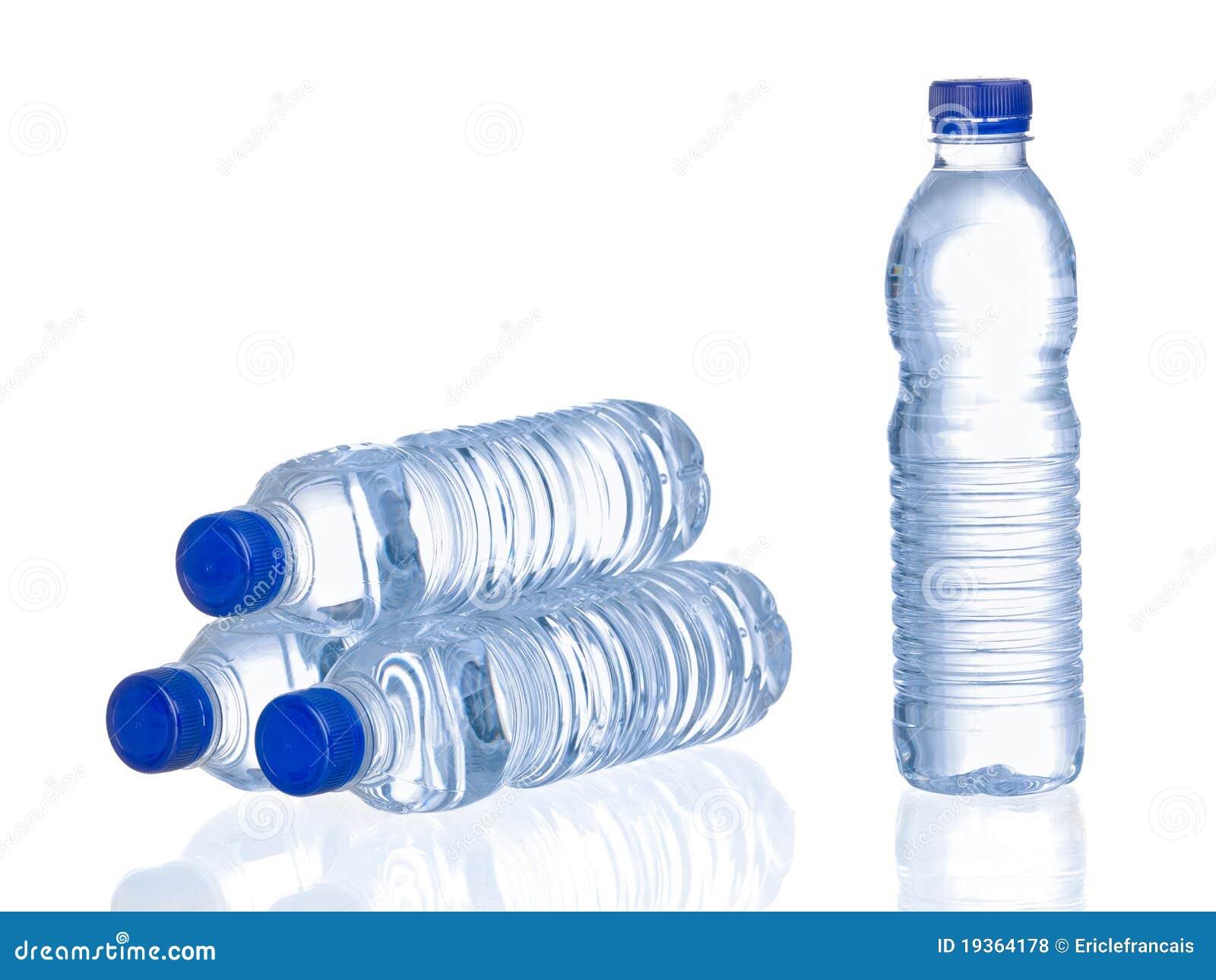 Frascos da água