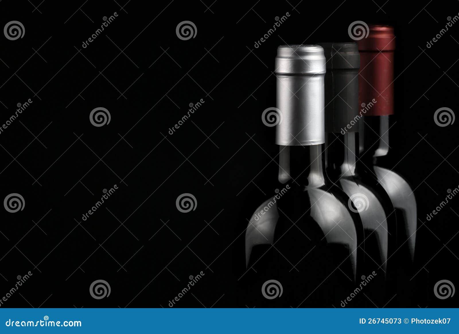 Frascos do vinho