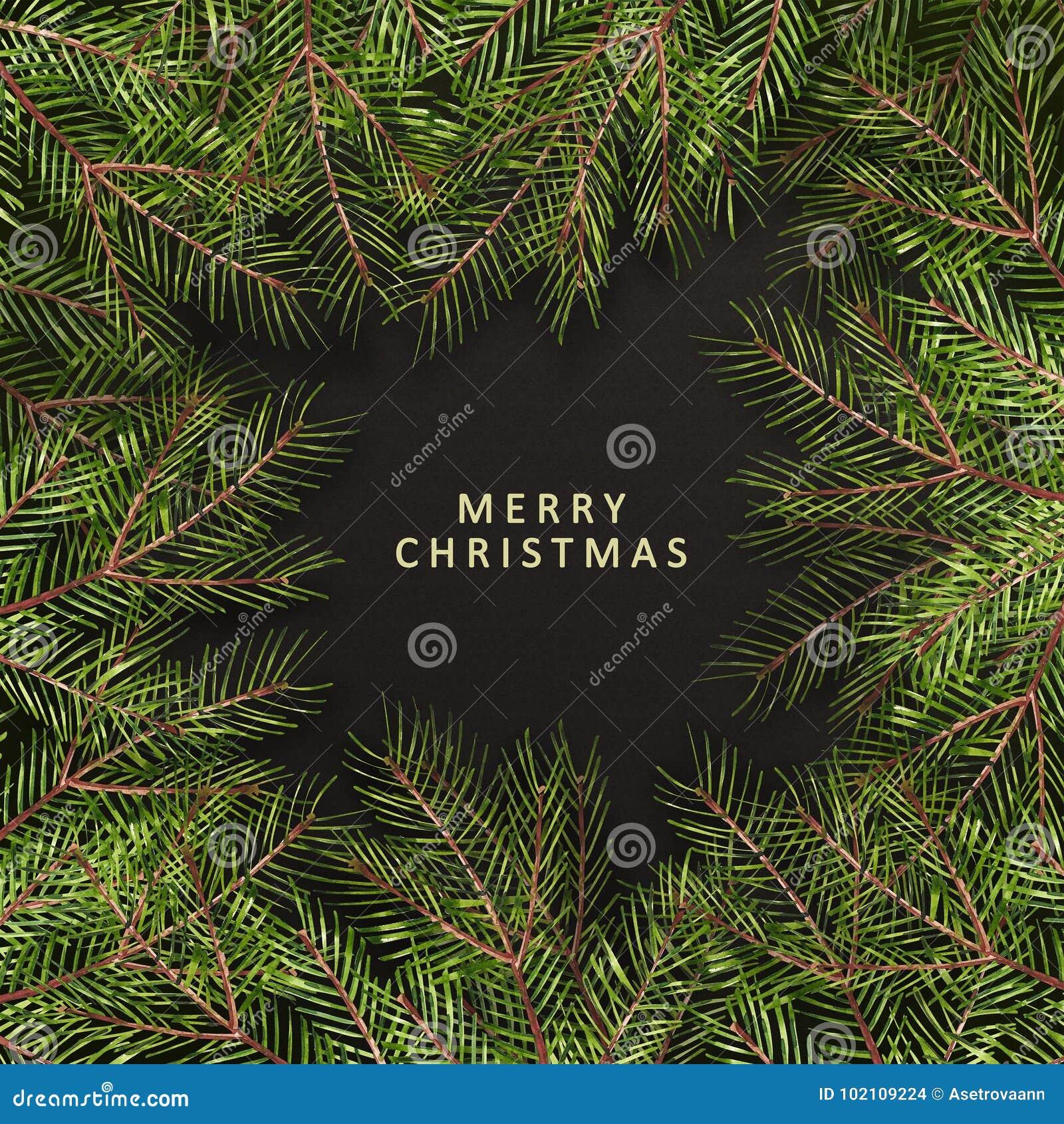Frase De La Feliz Navidad Texto De La Navidad En Fondo De