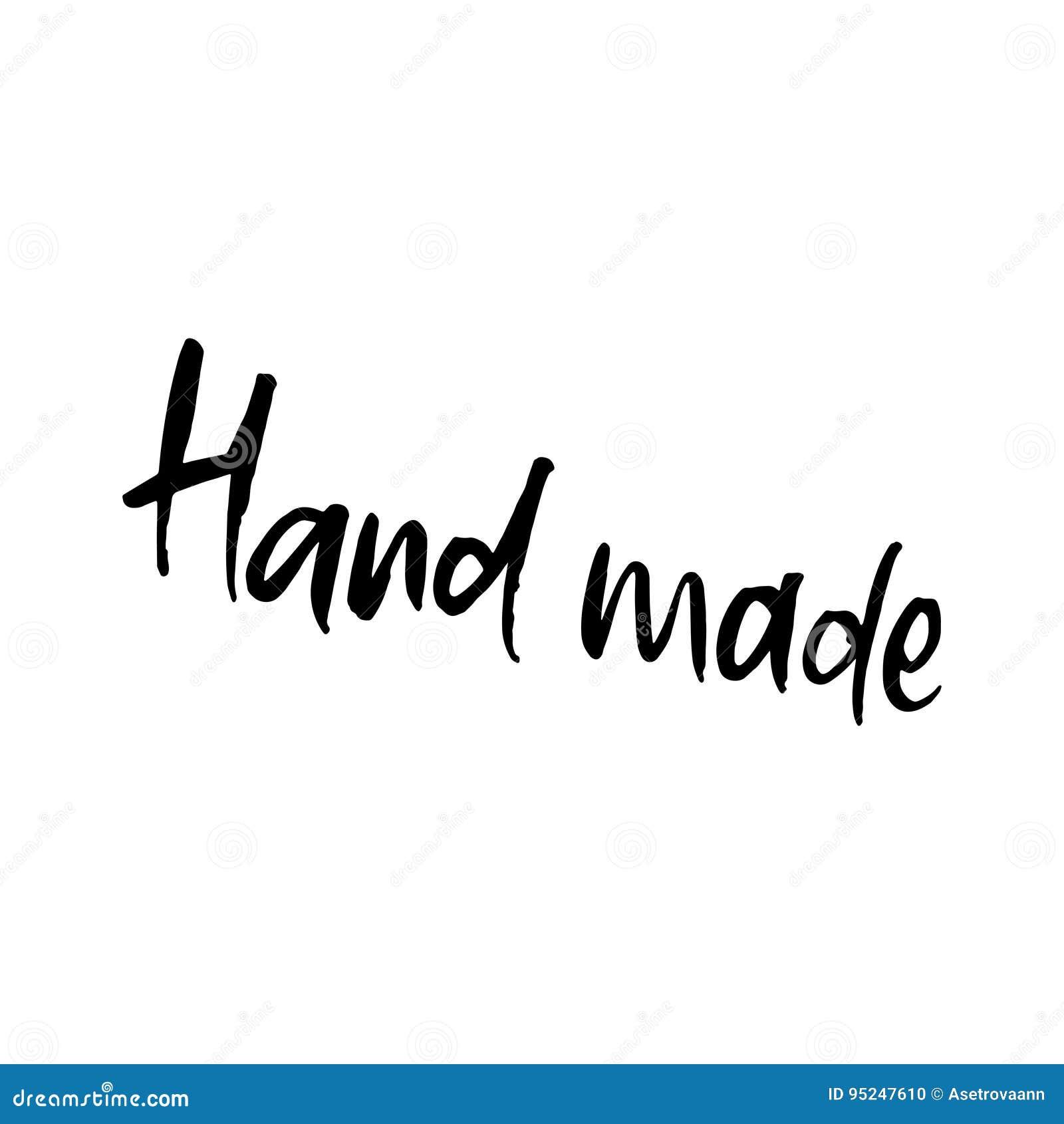 Frase Dibujada Mano Hecha A Mano Diseño De Letras Para Los