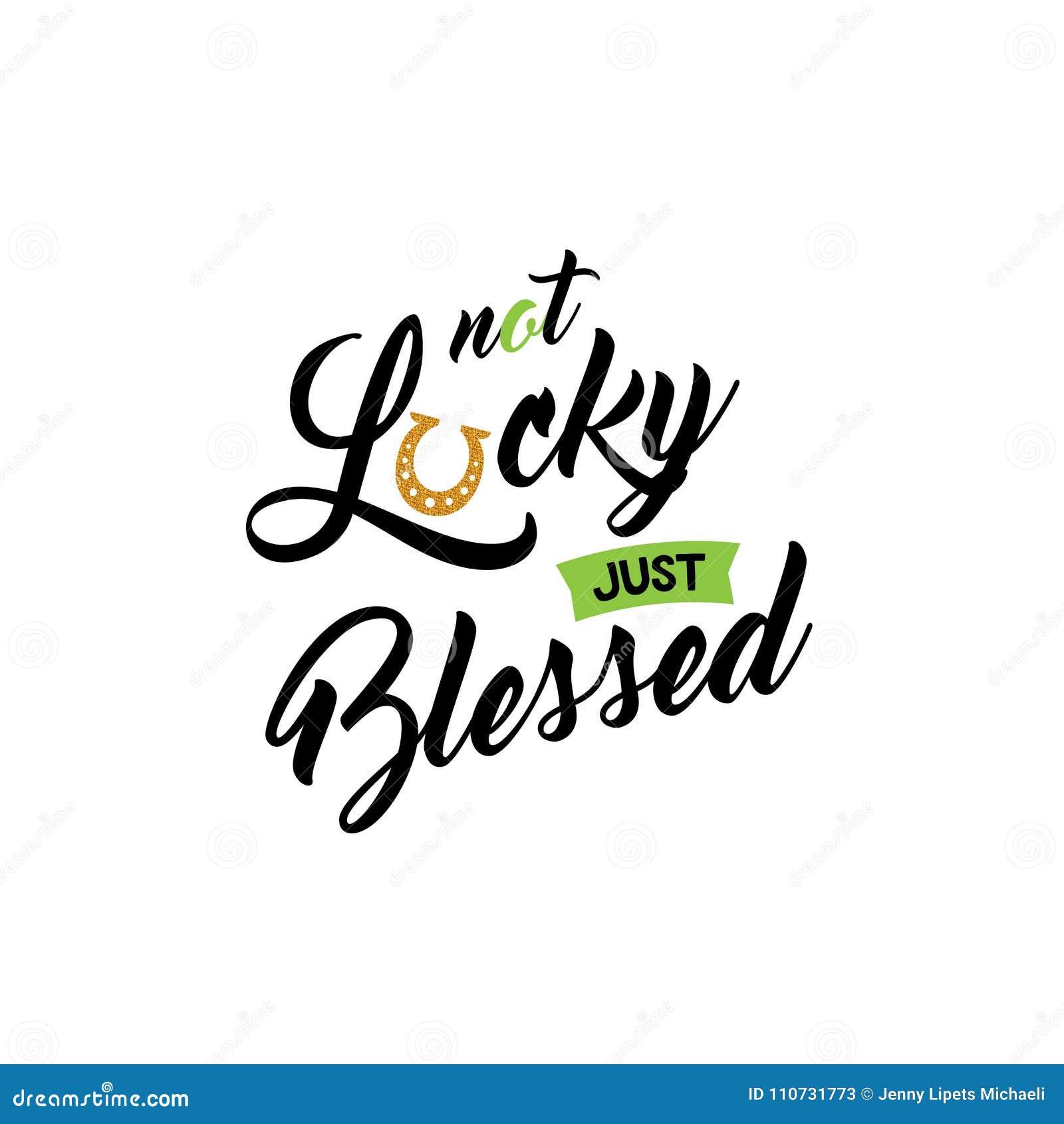 Frase Linda De Las Letras De St Patrick Day Vector La Cita