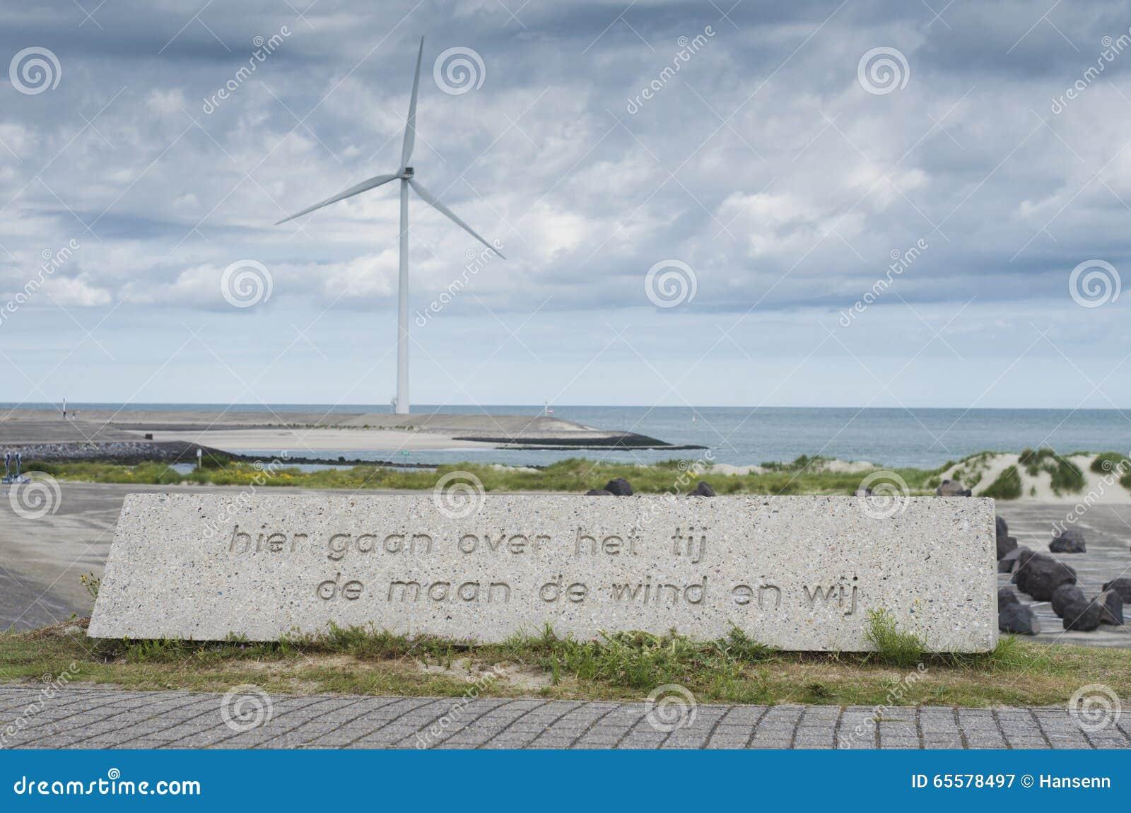 Frase sobre a maré