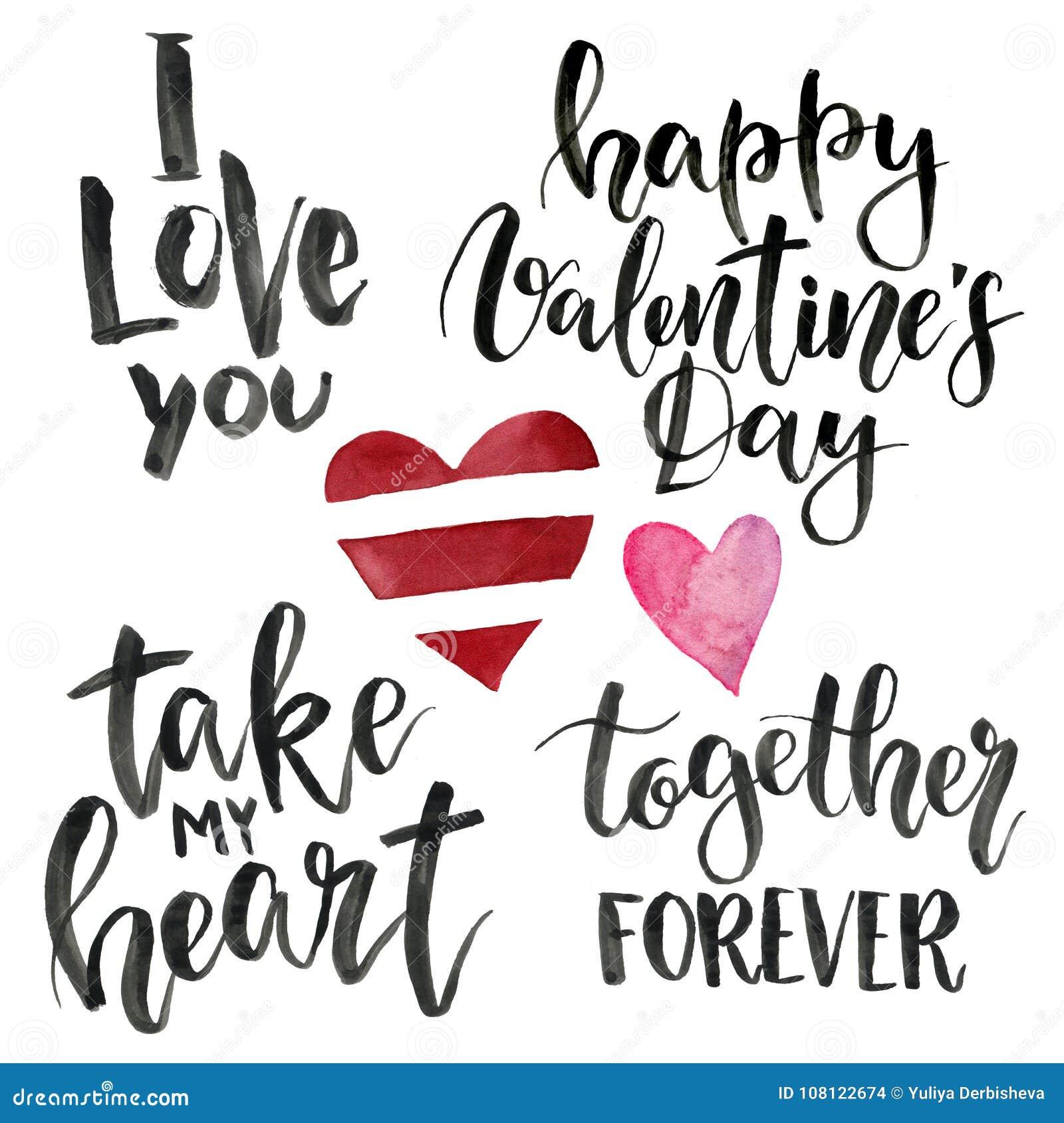 Frases Para O Dia Do S Do Valentim Eu Te Amo Tome Meu Coração