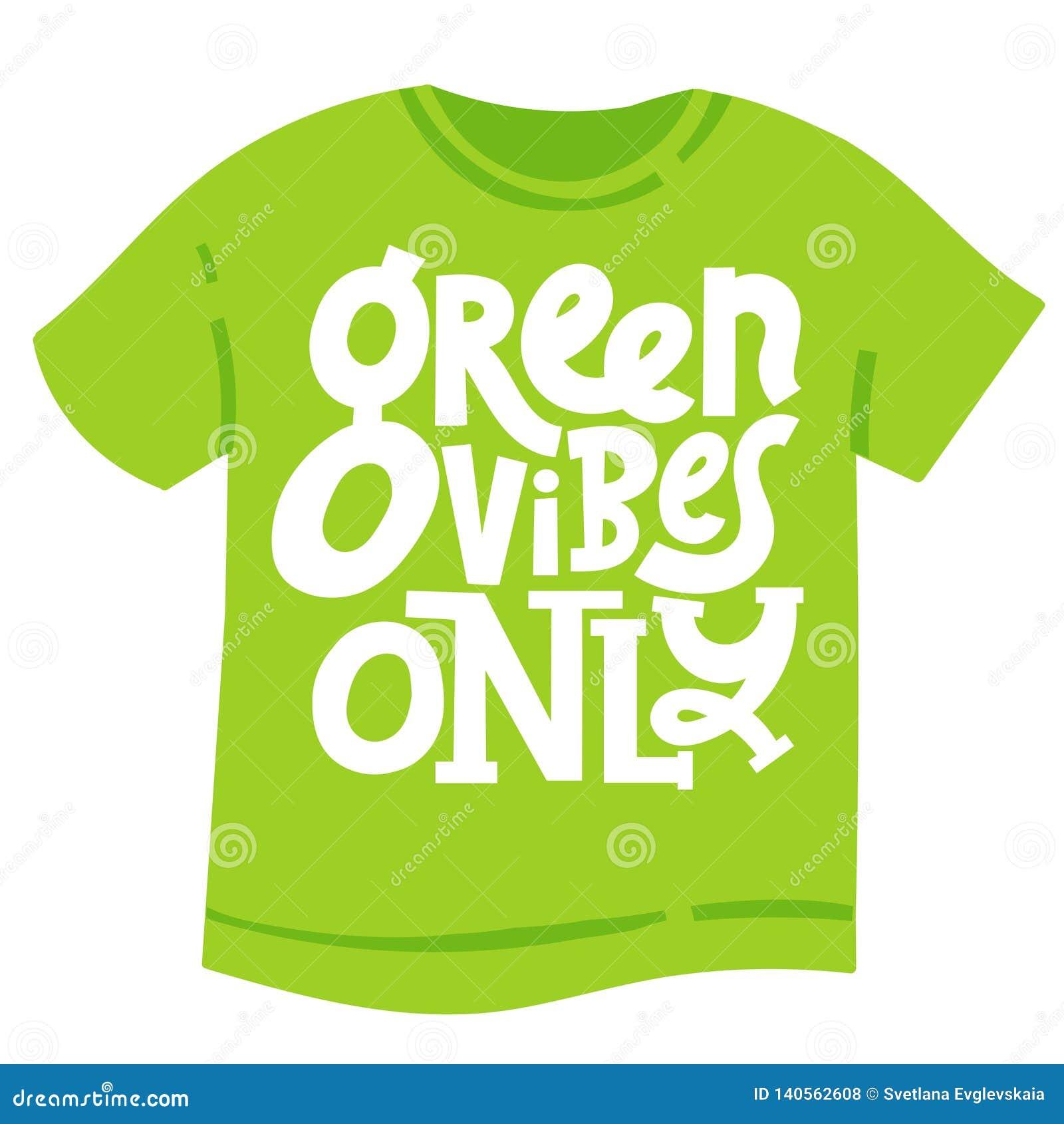 Frases Verdes Sobre La Ecología Ilustración Del Vector