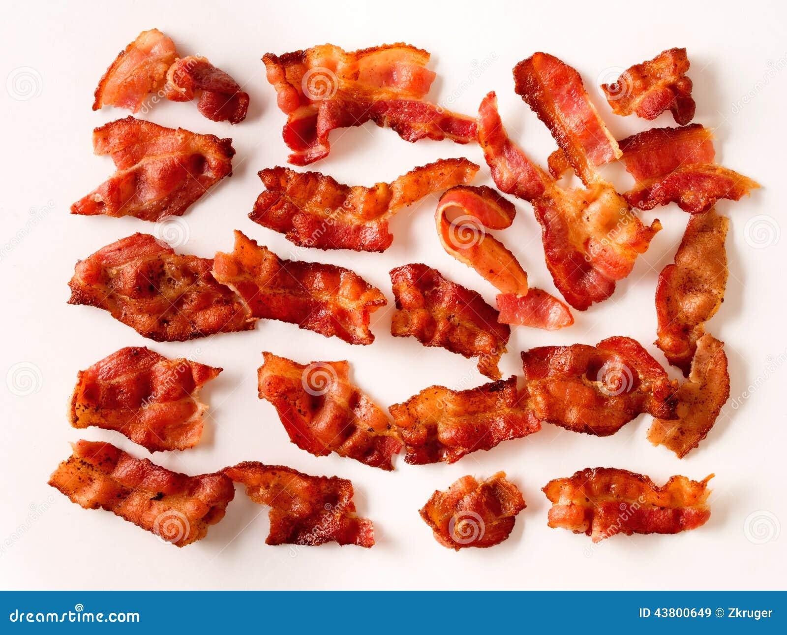 bacon kalorier stekt