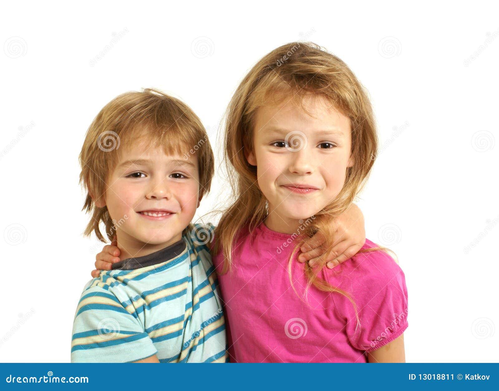 Fratello e sorella immagine stock immagine 13018811 - Fratello e sorella a letto insieme ...