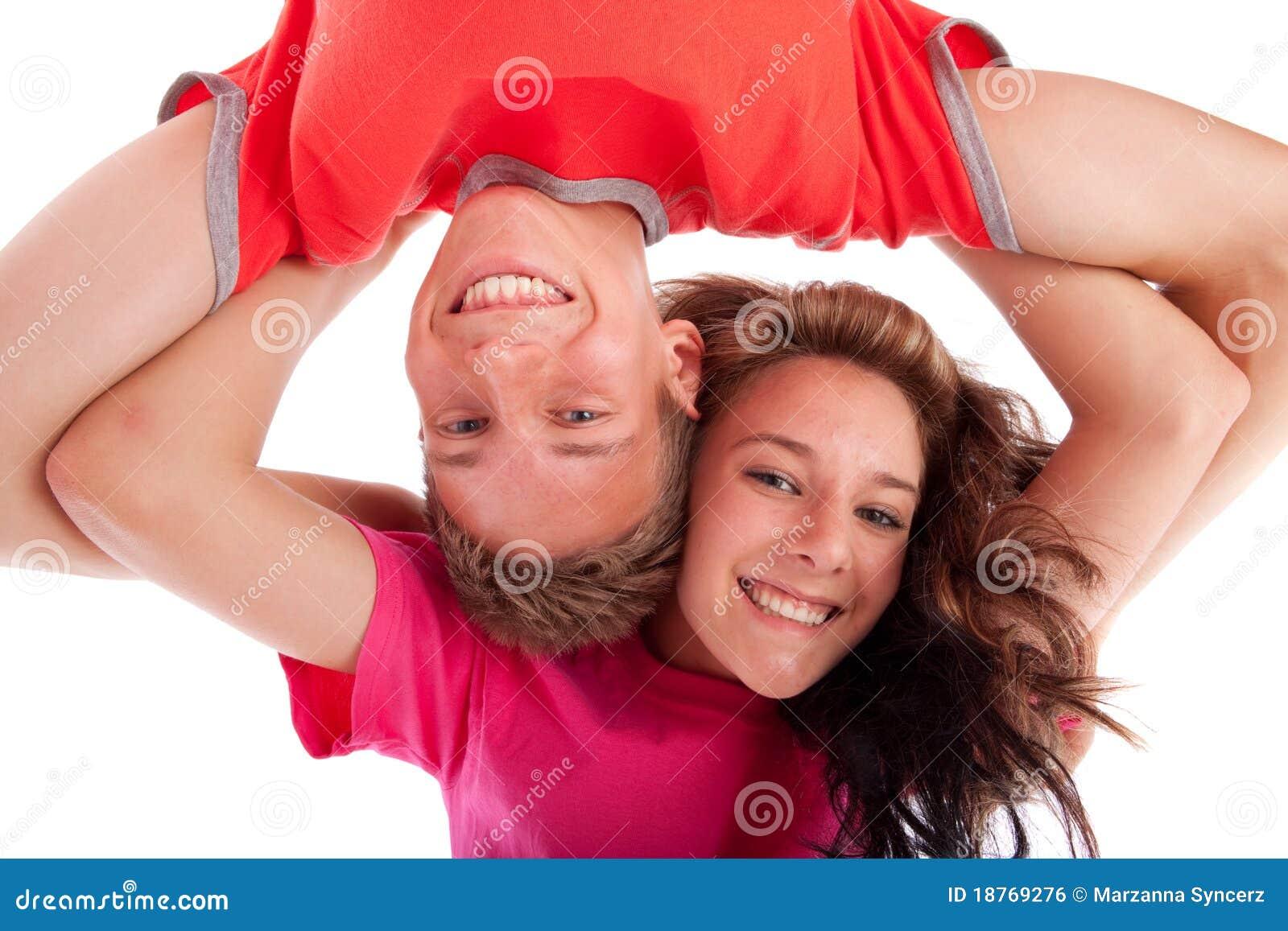Fratello e sorella adolescenti immagine stock libera da - Fratello e sorella a letto insieme ...