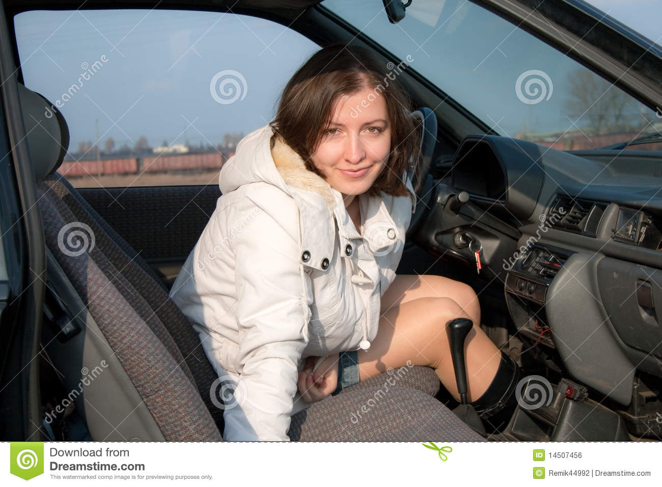 Woman Driving Car Pictures