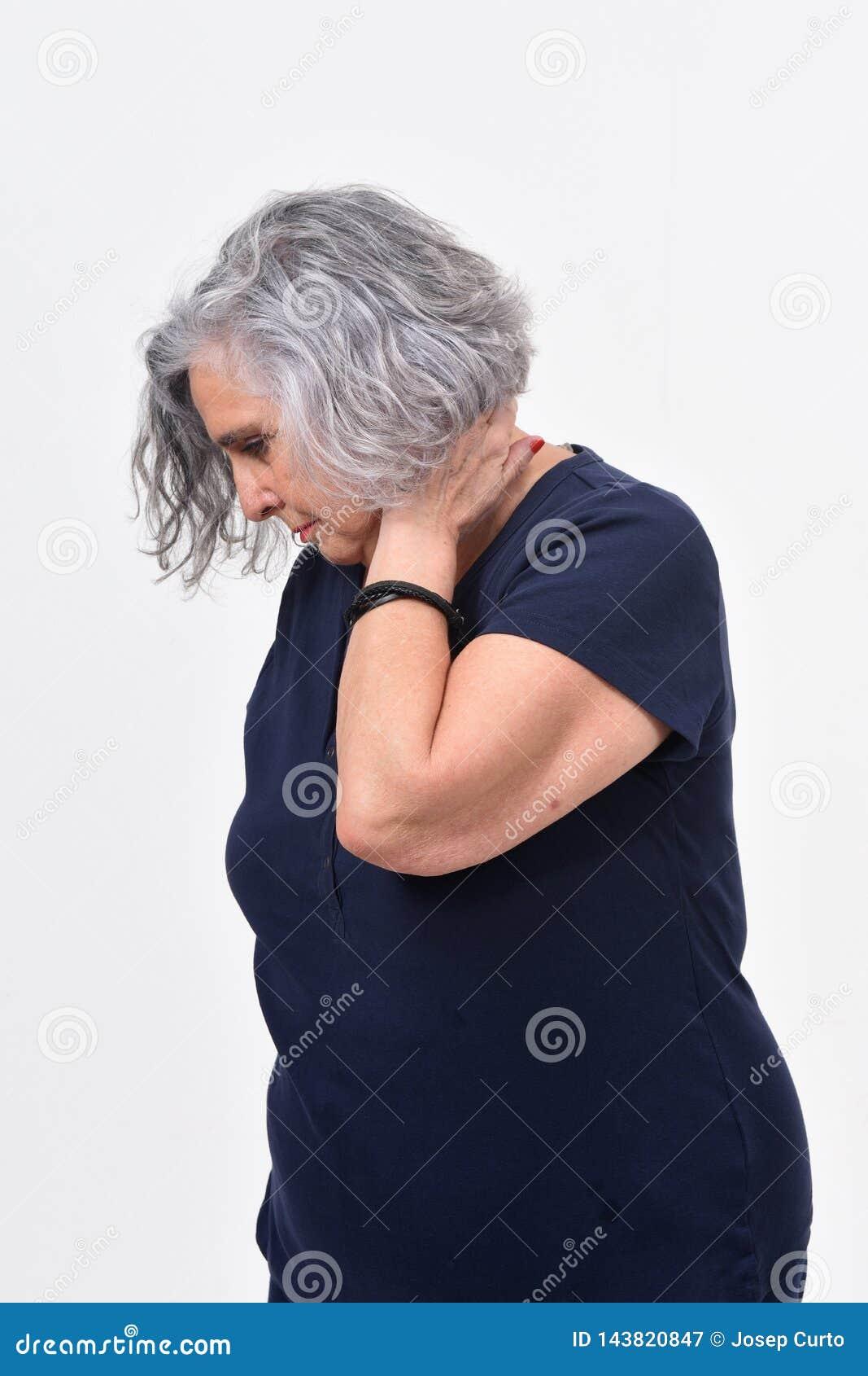 Halsschmerzen Rechte Seite