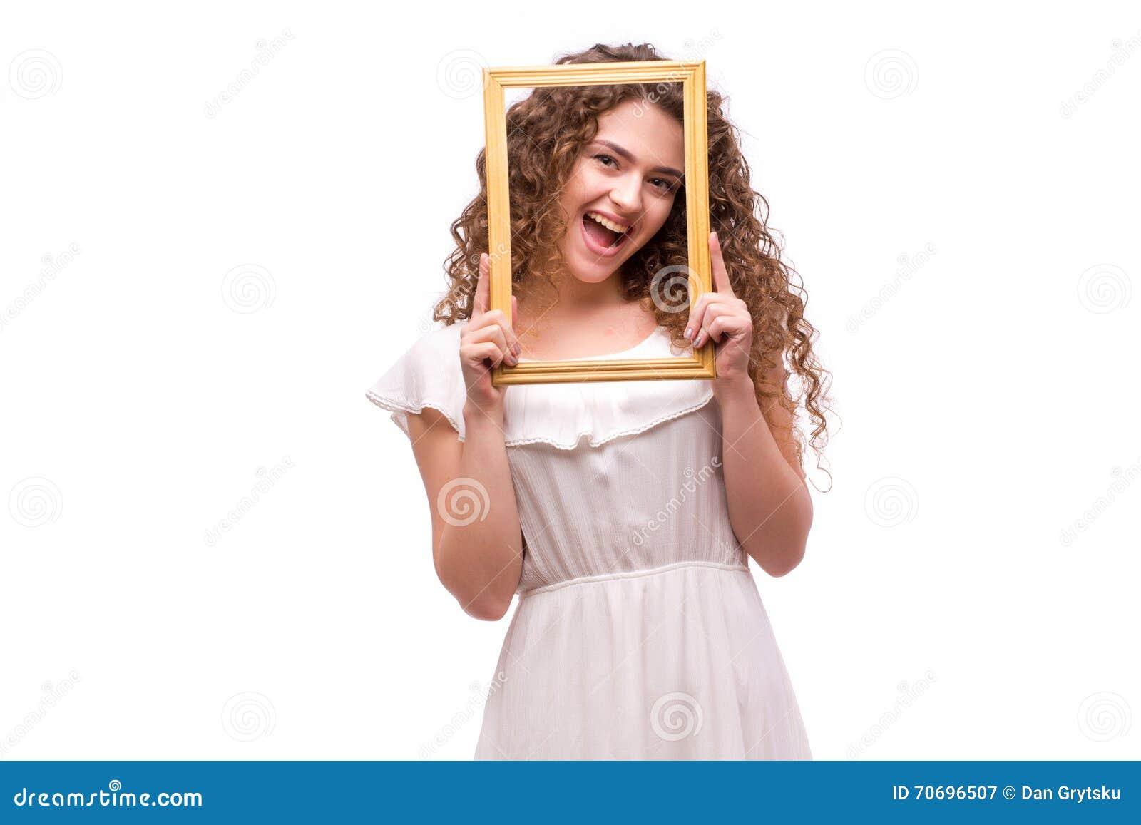 Smiley einem rahmen Stock-Fotos - Melden Sie sich kostenlos an
