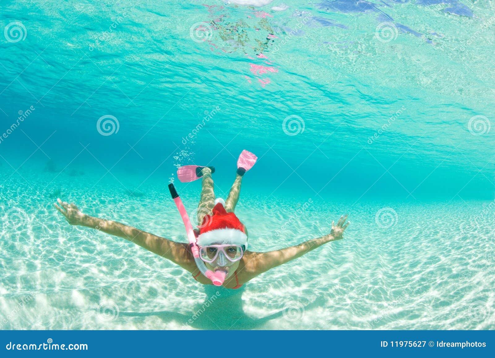 Frau Snorkel-Weihnachtsfeiertag