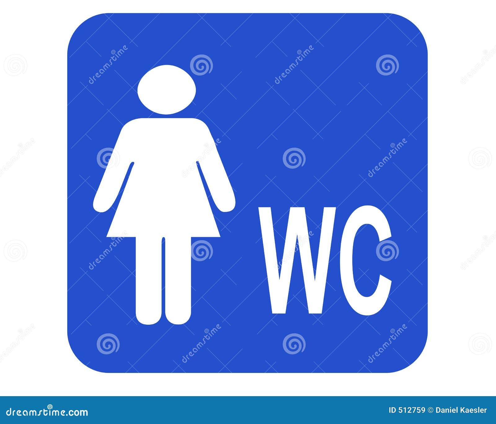 Frau-WC