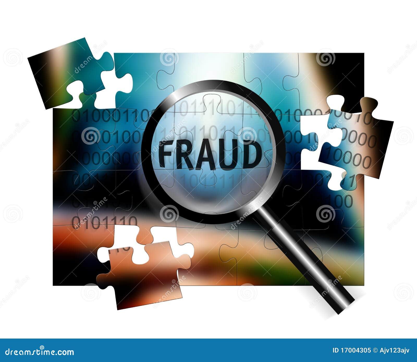 Fraude do foco da segurança