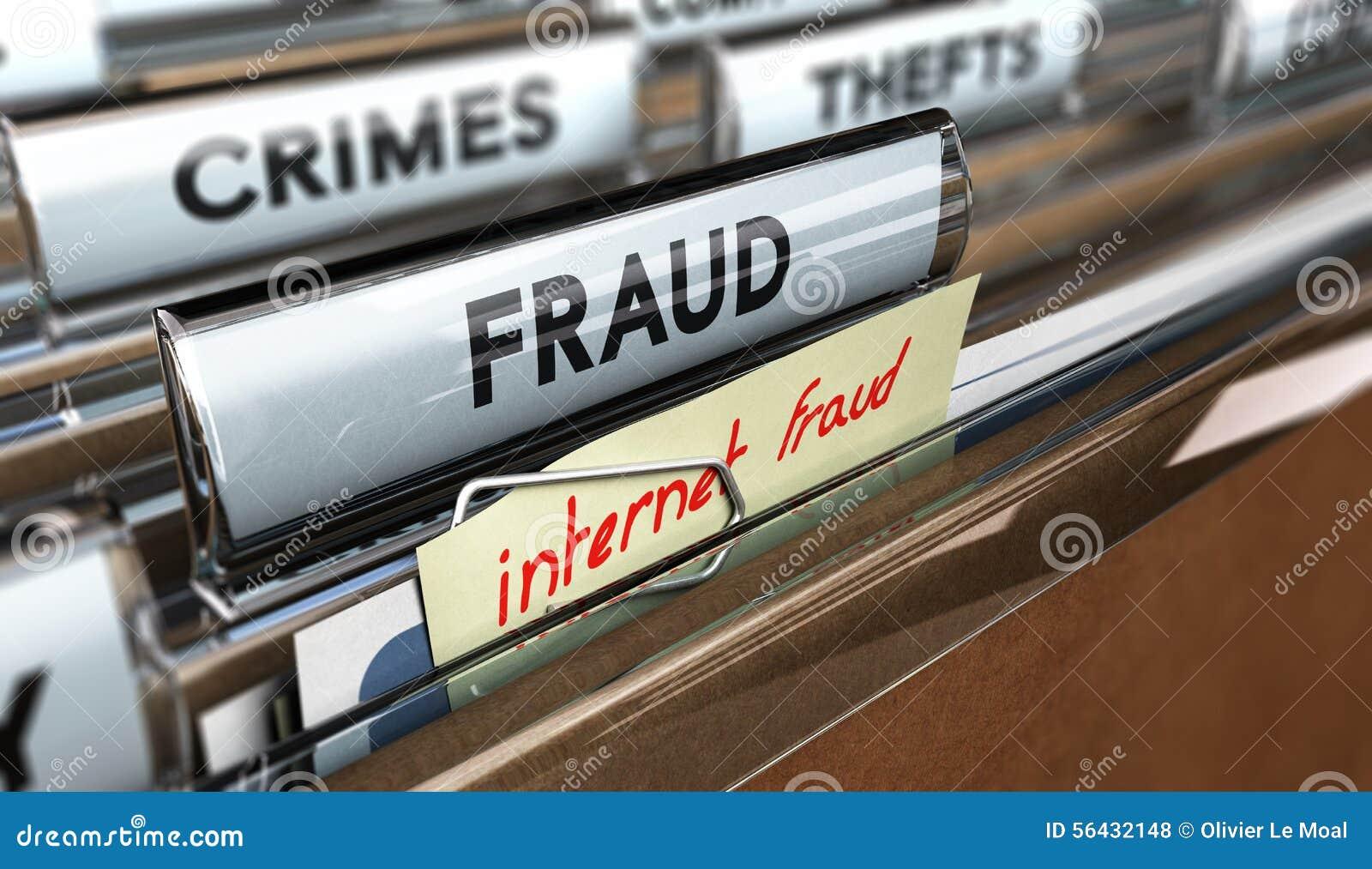 Fraude do Internet, embustes em linha
