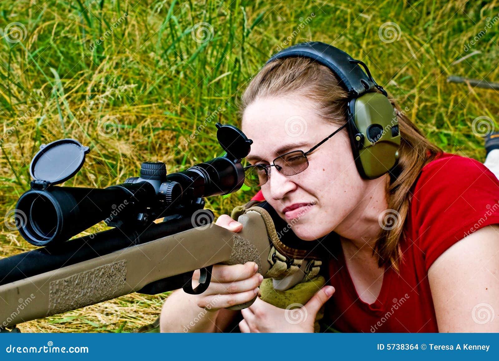 Frauen-Schießen