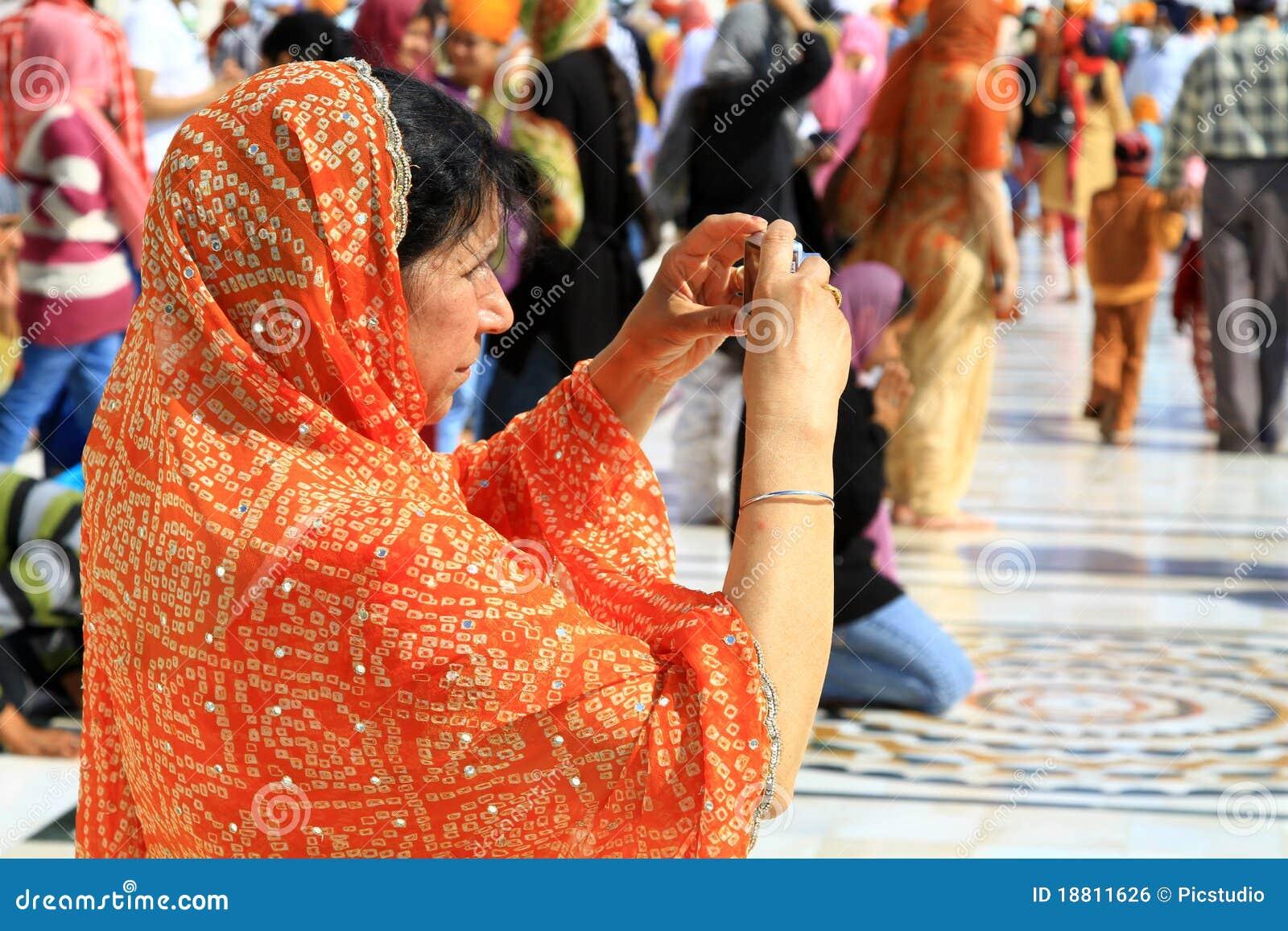 Frauen touristisch
