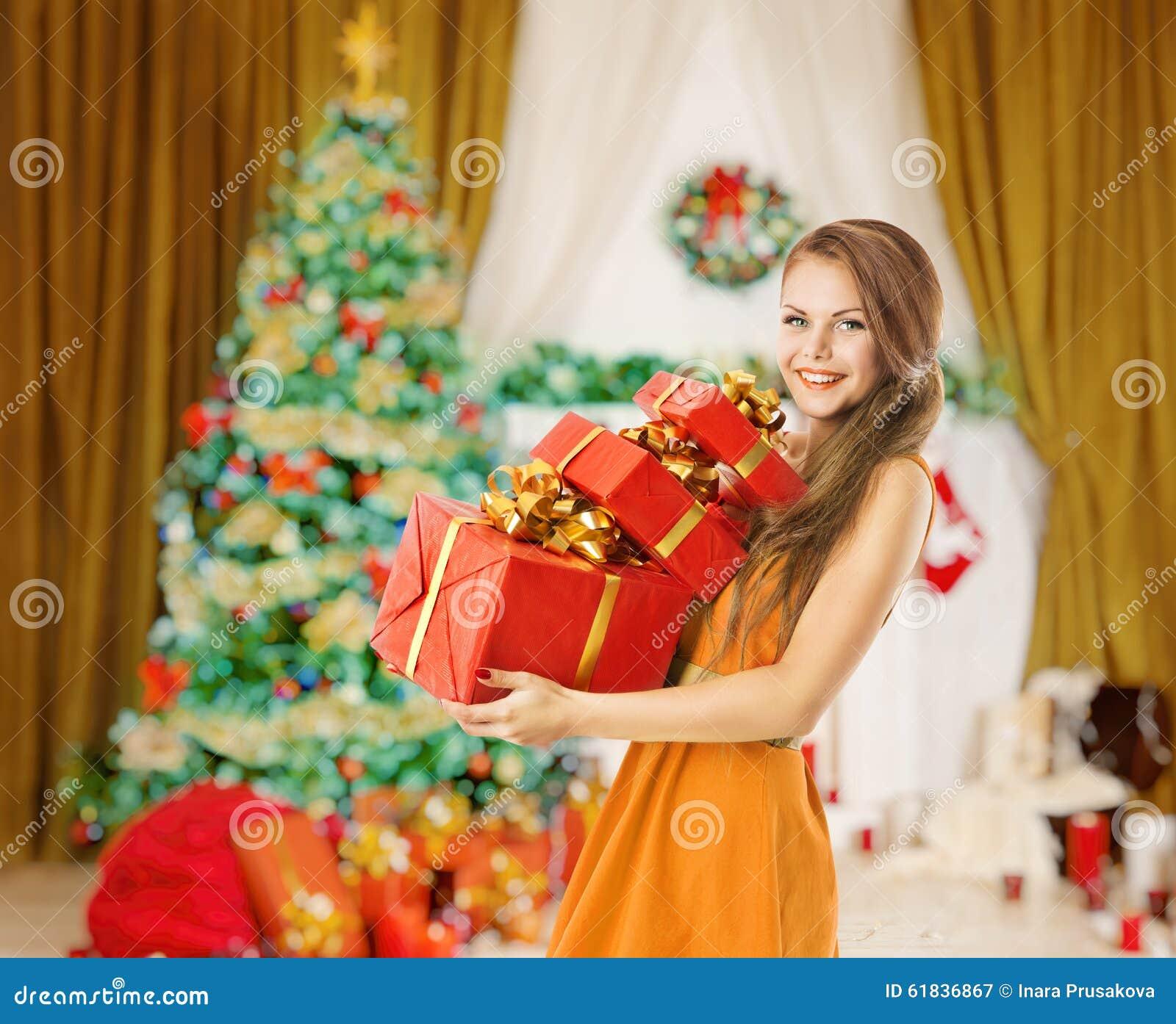 Frauen-Weihnachtsgeschenk-Geschenk-Kästen, Feiertag Vorbildliches ...